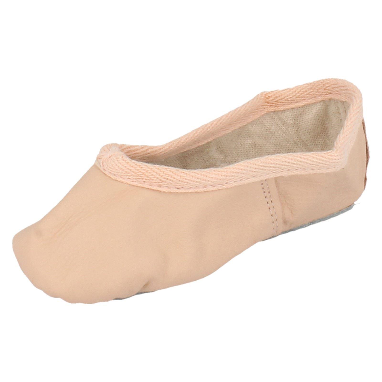 Cuero señoras Gandolfi Ballet Zapatos De Baile Zapatos De Ballet-D