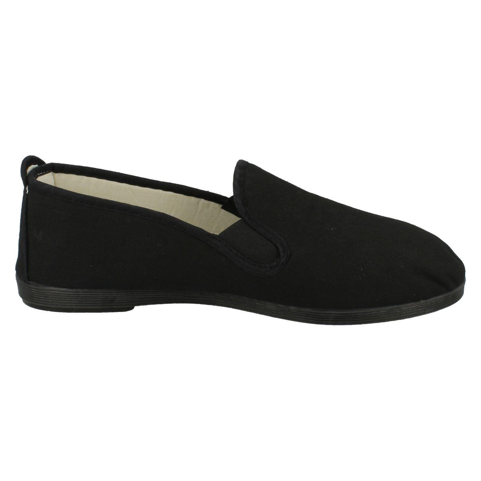 Lona Mens resbalón en Lona Playera Zapatos A1063