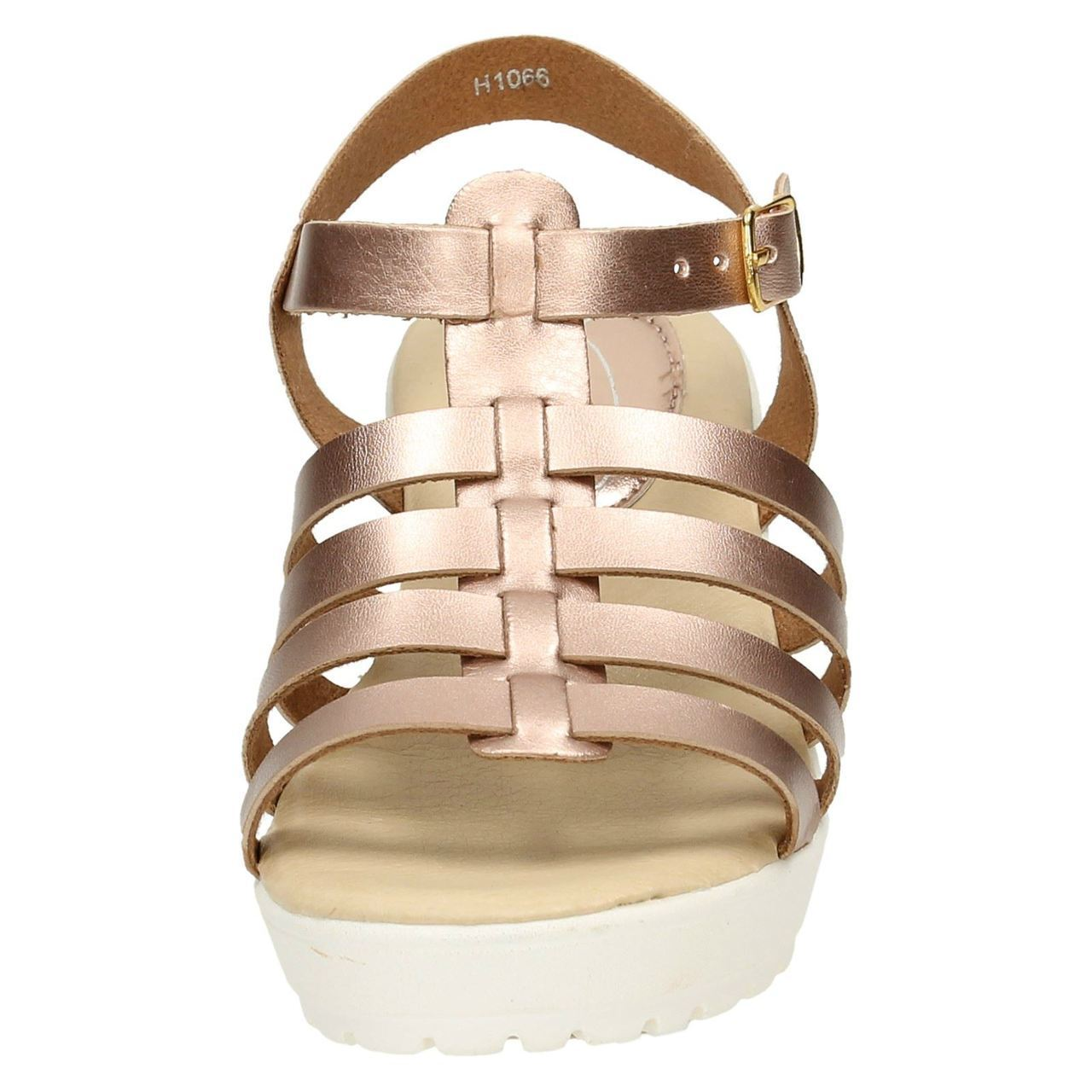 Girls Spot On H1066 Slingback Gladiator Sandals Style ~ K