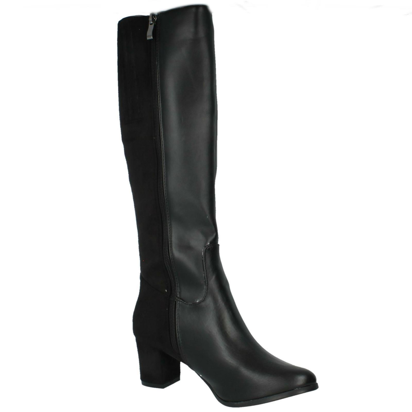 Ladies Spot F50366 On Heeled Boots Label F50366 Spot cfb06f