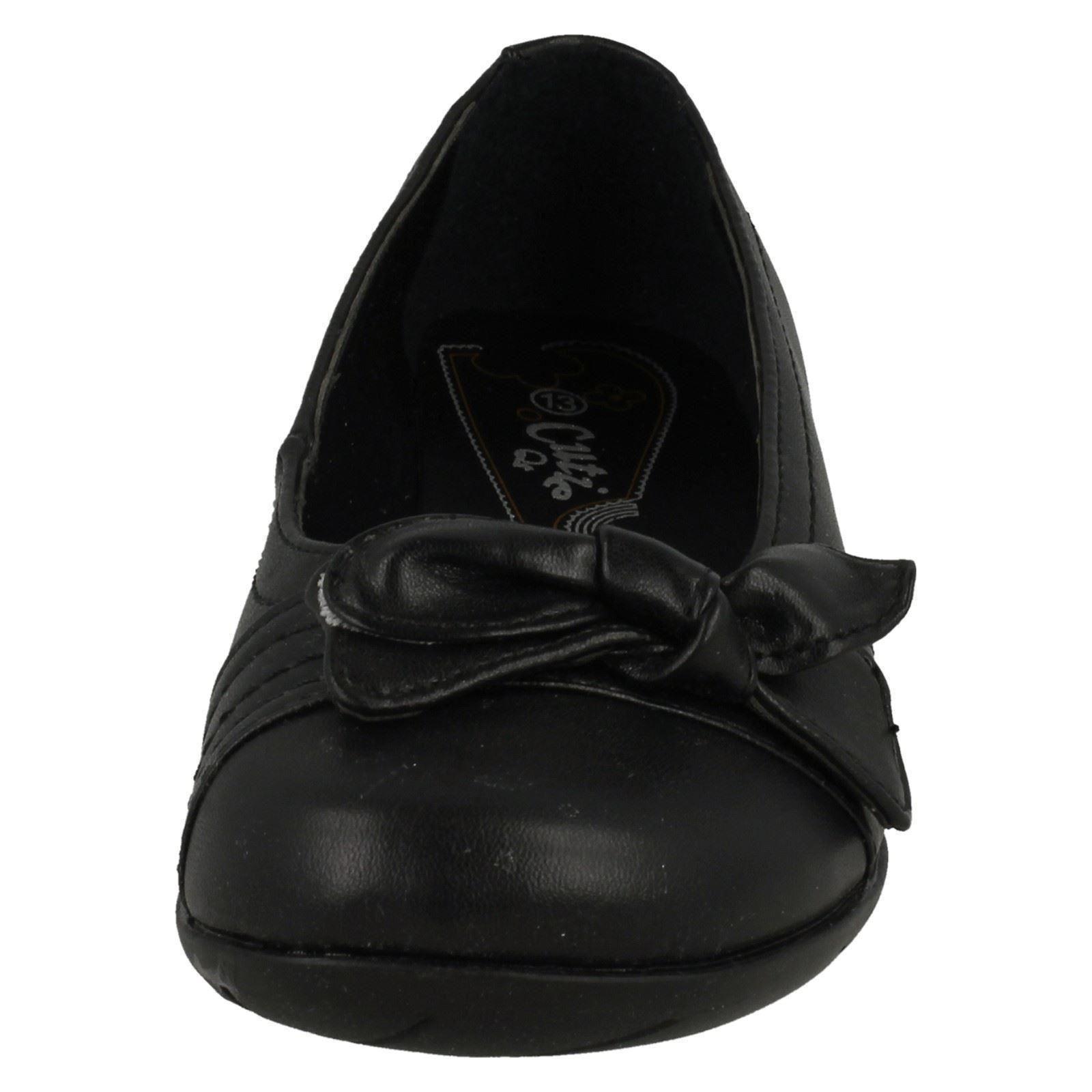 Chicas Cutie X3009 Resbalón en Zapatos Escolares Etiqueta ~ K