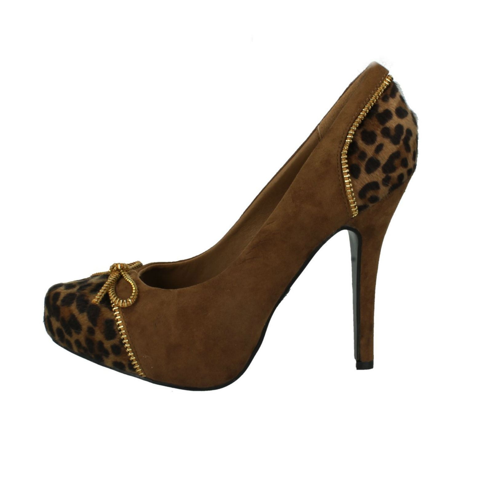 Mujer Spot On Zapatos de salón LABEL F9580 ~ N
