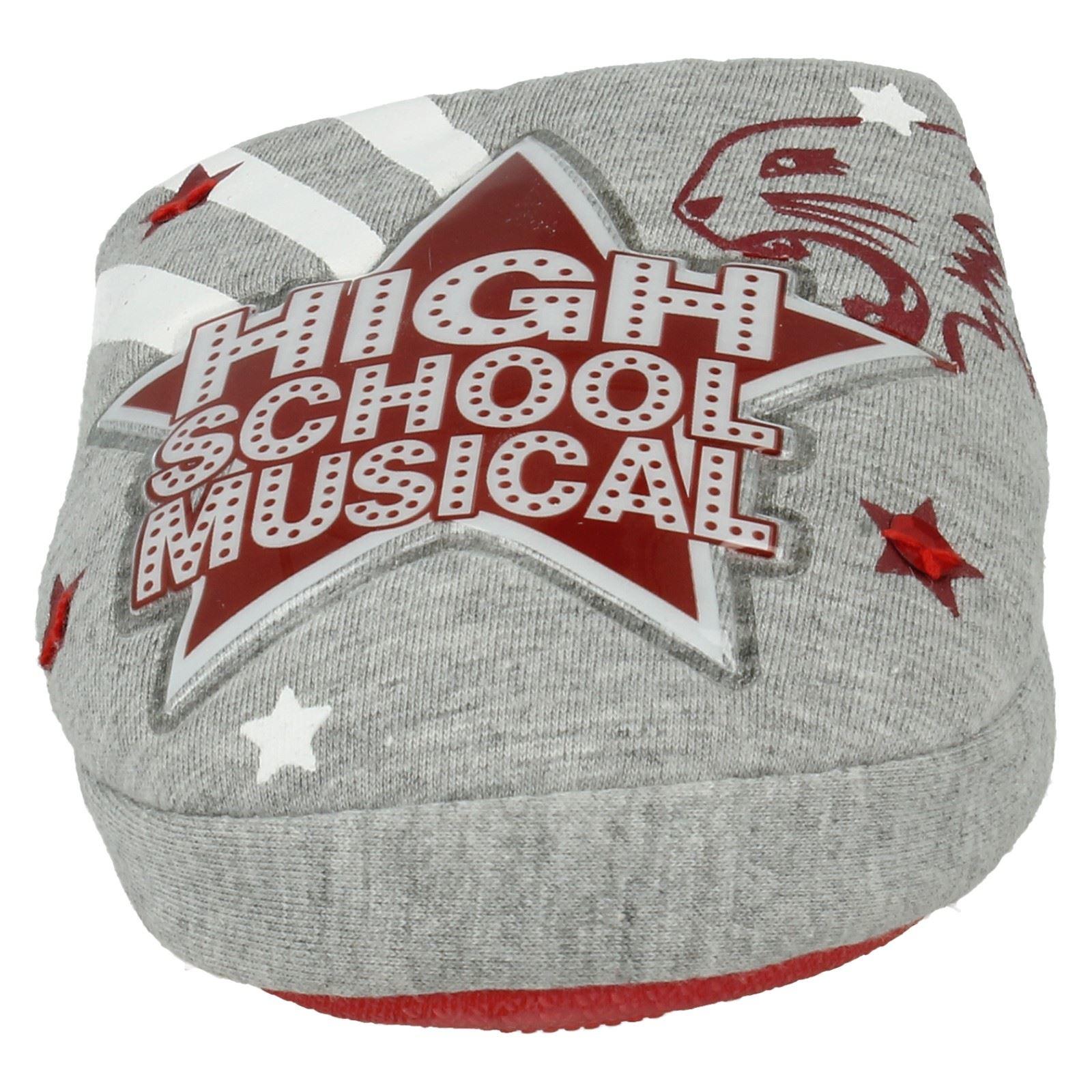 Chicas Disney High School Musical Zapatillas Estilo-High School Musical