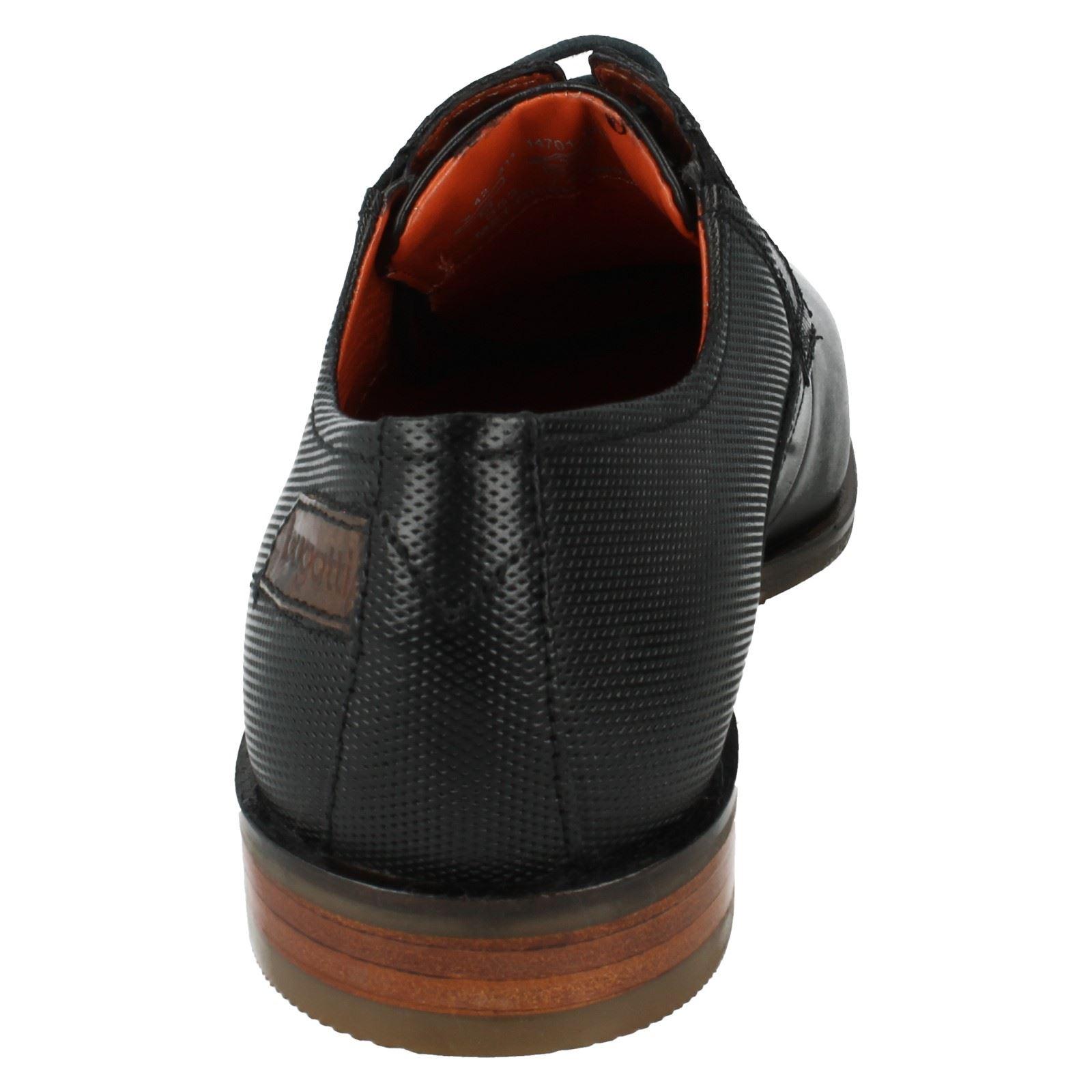 Mens Formal Bugatti Formal Mens Shoes Style 311-14701-1010 -W 495f1e