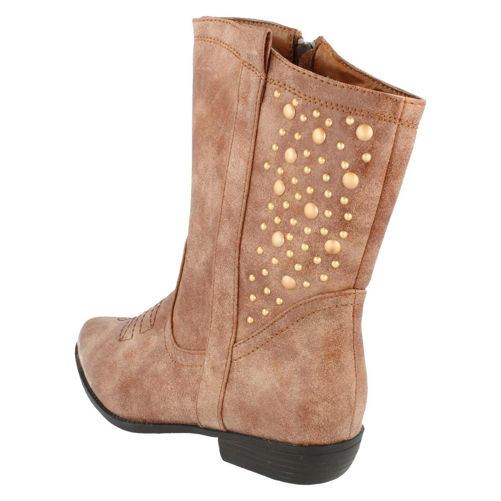 Girls Spot On Boots Style - H5021