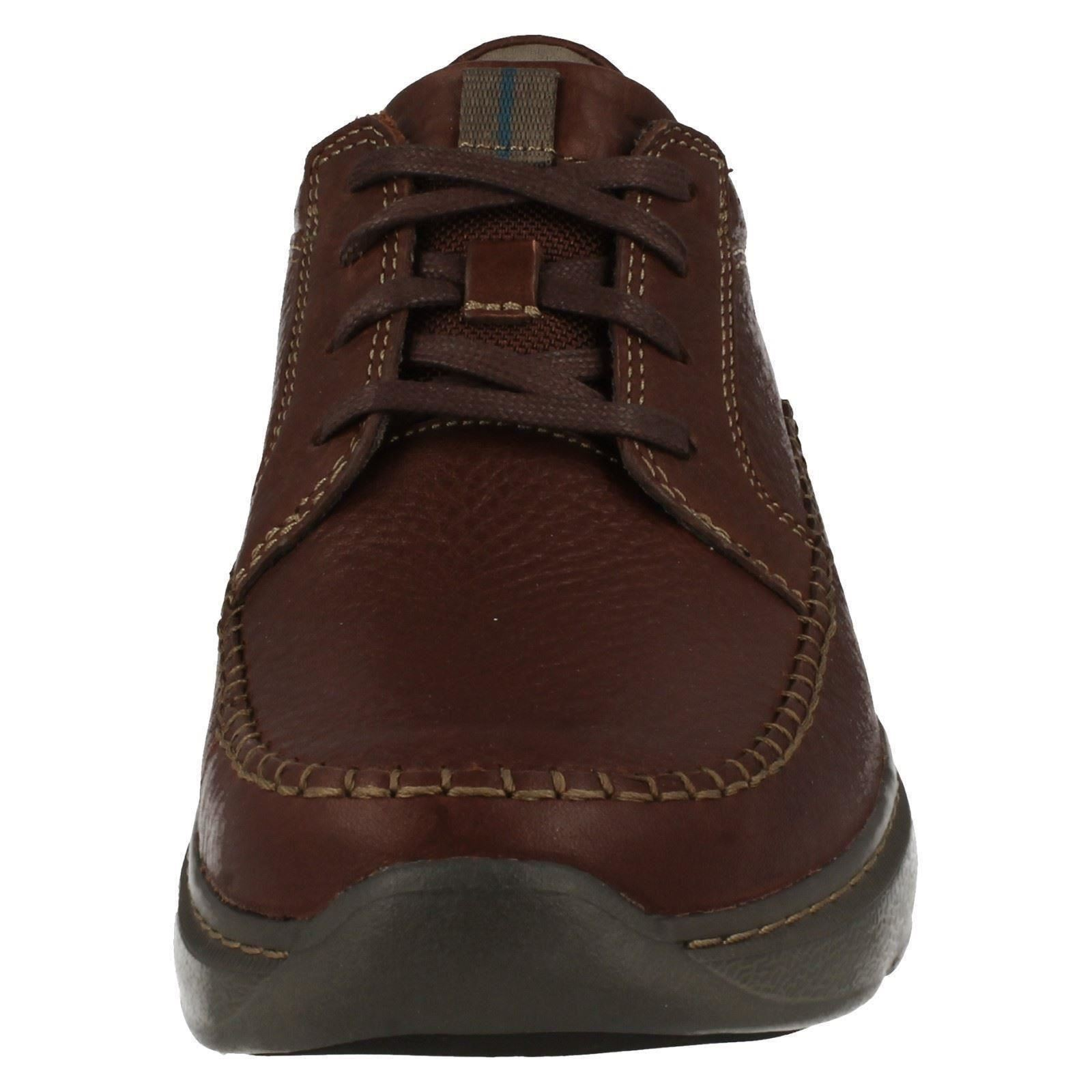hombres Clarks Casual Lace Up Zapatos The The The Style - Charton Vibe - W 99c29d