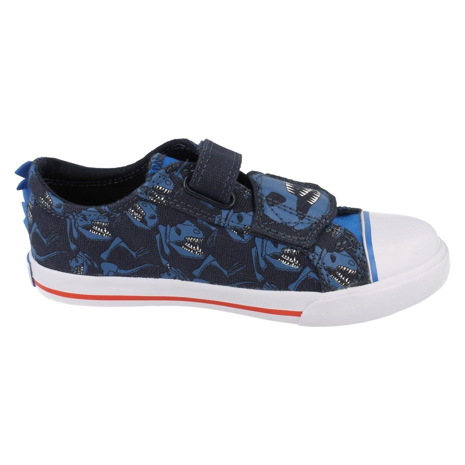 Boys Clarks Shoes Tricer Roar