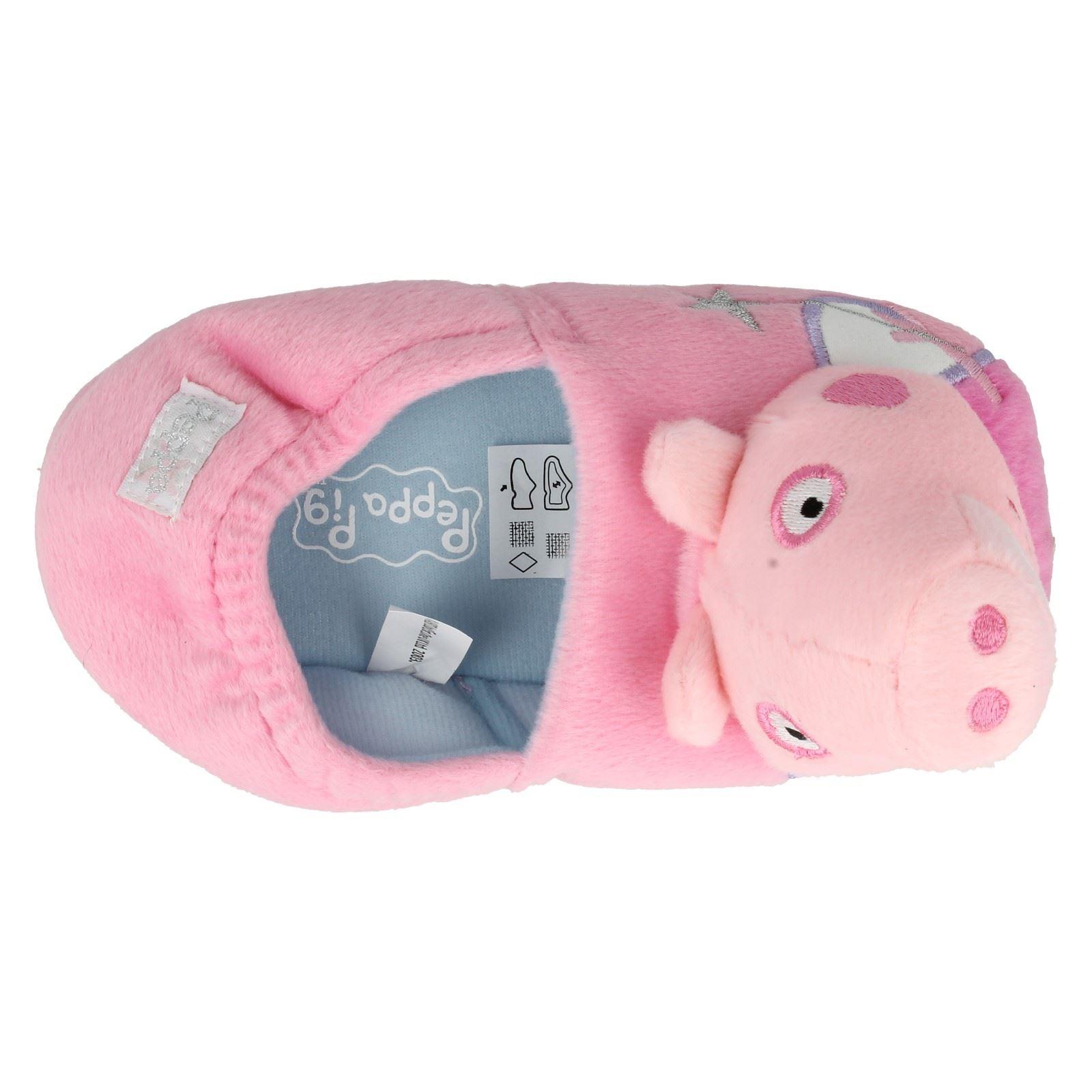 Niñas Peppa Pig Hada Novedad Pantuflas Etiqueta GSS02062