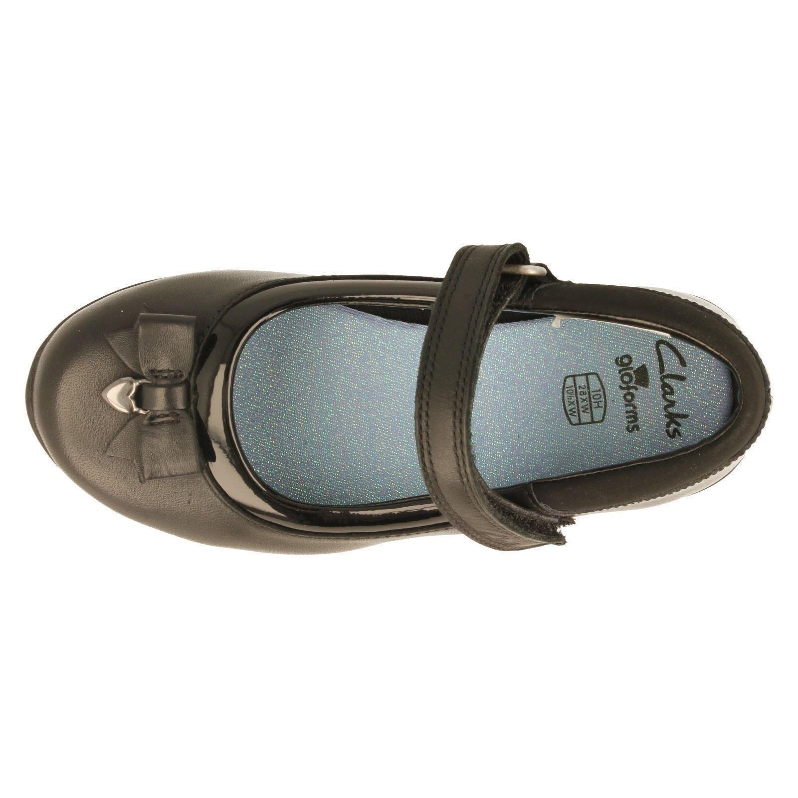 Clarks Zapatos de chicas gloforms estilo Ting fiebre-W