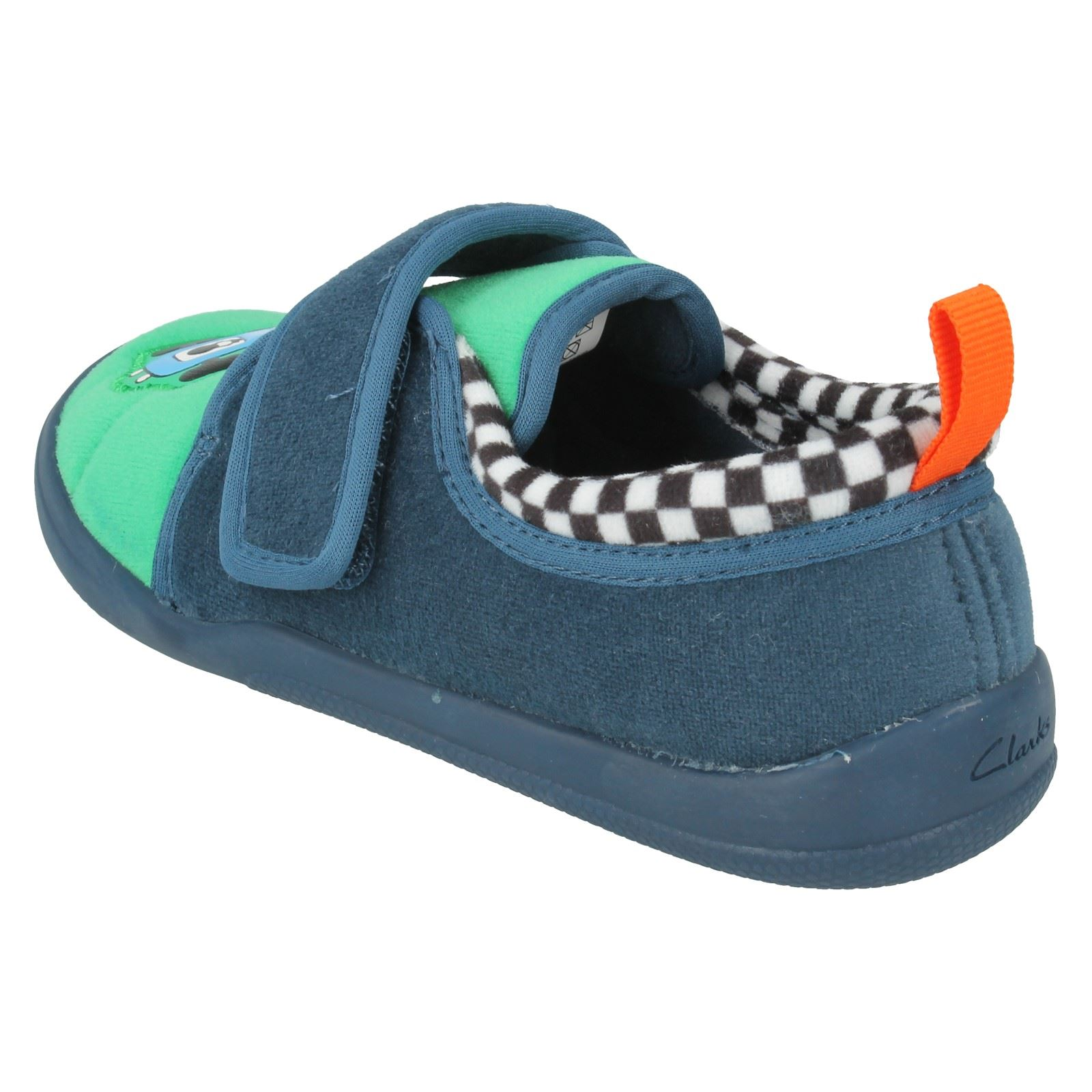 Boys Clarks Slippers Style - Cuba pace