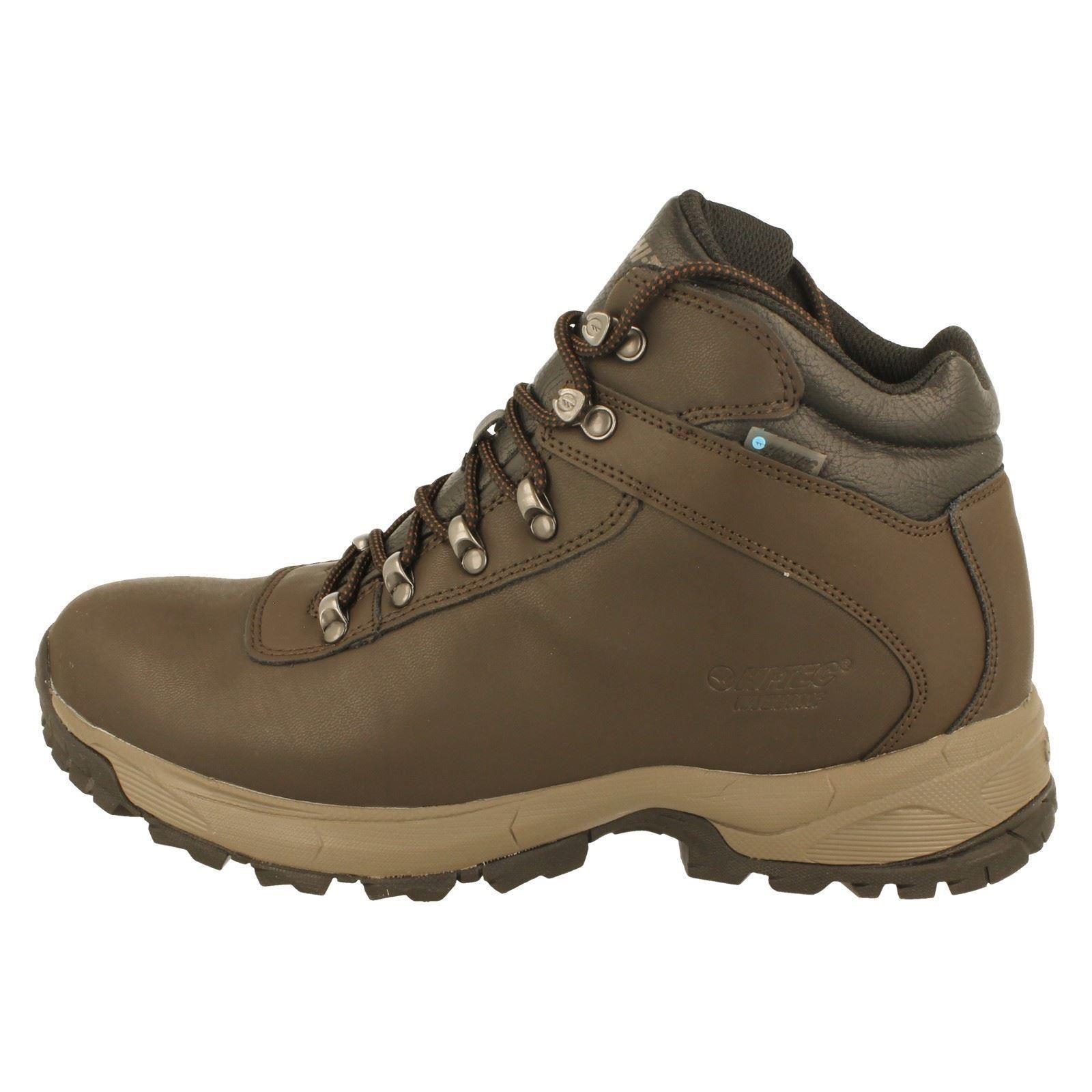Herren Hi Tec Walking Stiefel Style Eurotrek Lite Wp-W Wp-W Lite 662c43