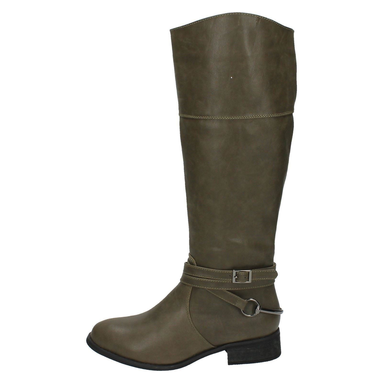 Ladies-Spot-On-Long-Boot-F50159-N