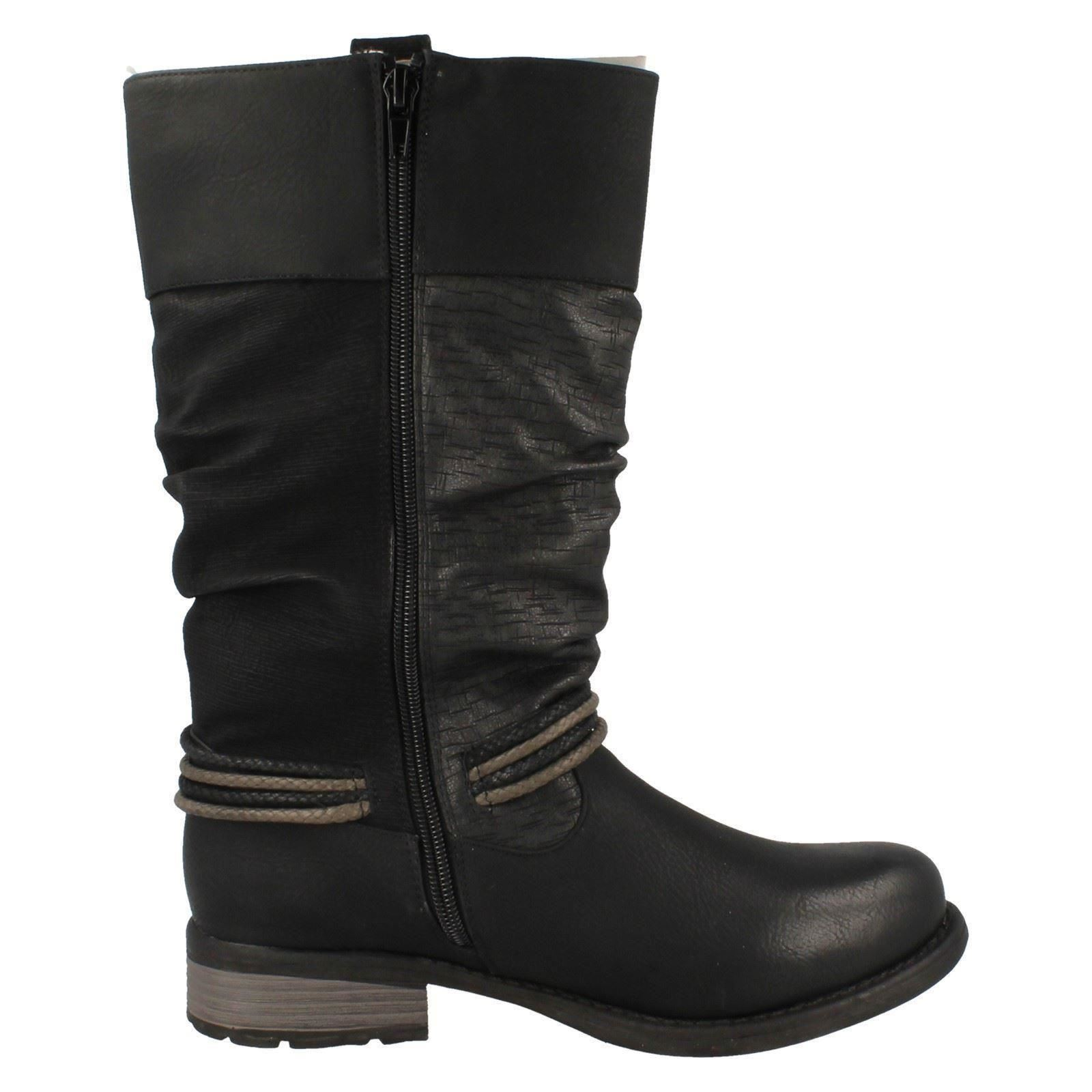 Ladies Remonte D0579 Wool Lined Water Resistant Resistant Resistant All Weather Ankle Boots ~ K d0d26e