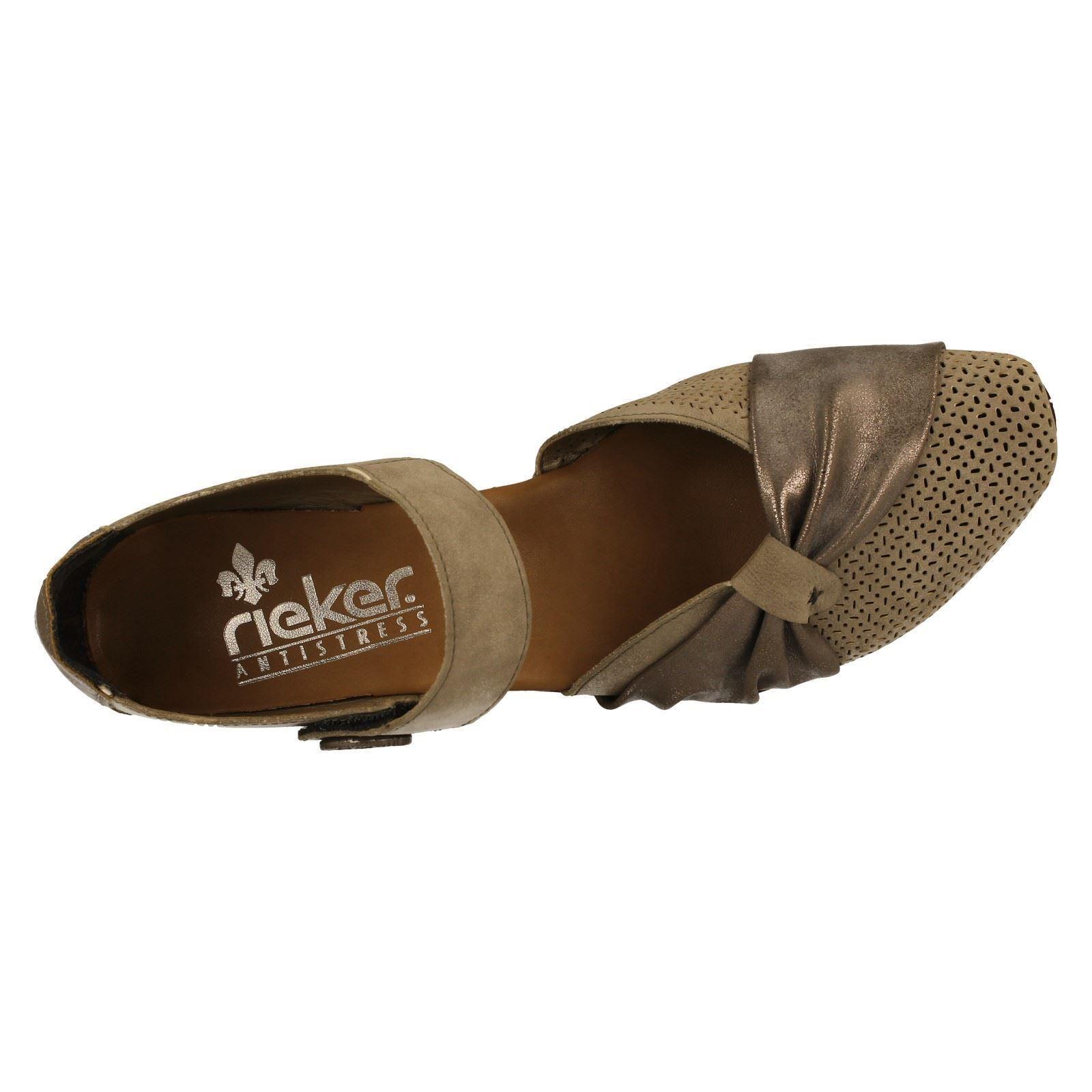 Grey Summer w Ladies The Style 43721 Rieker Shoes SB0WwZqO