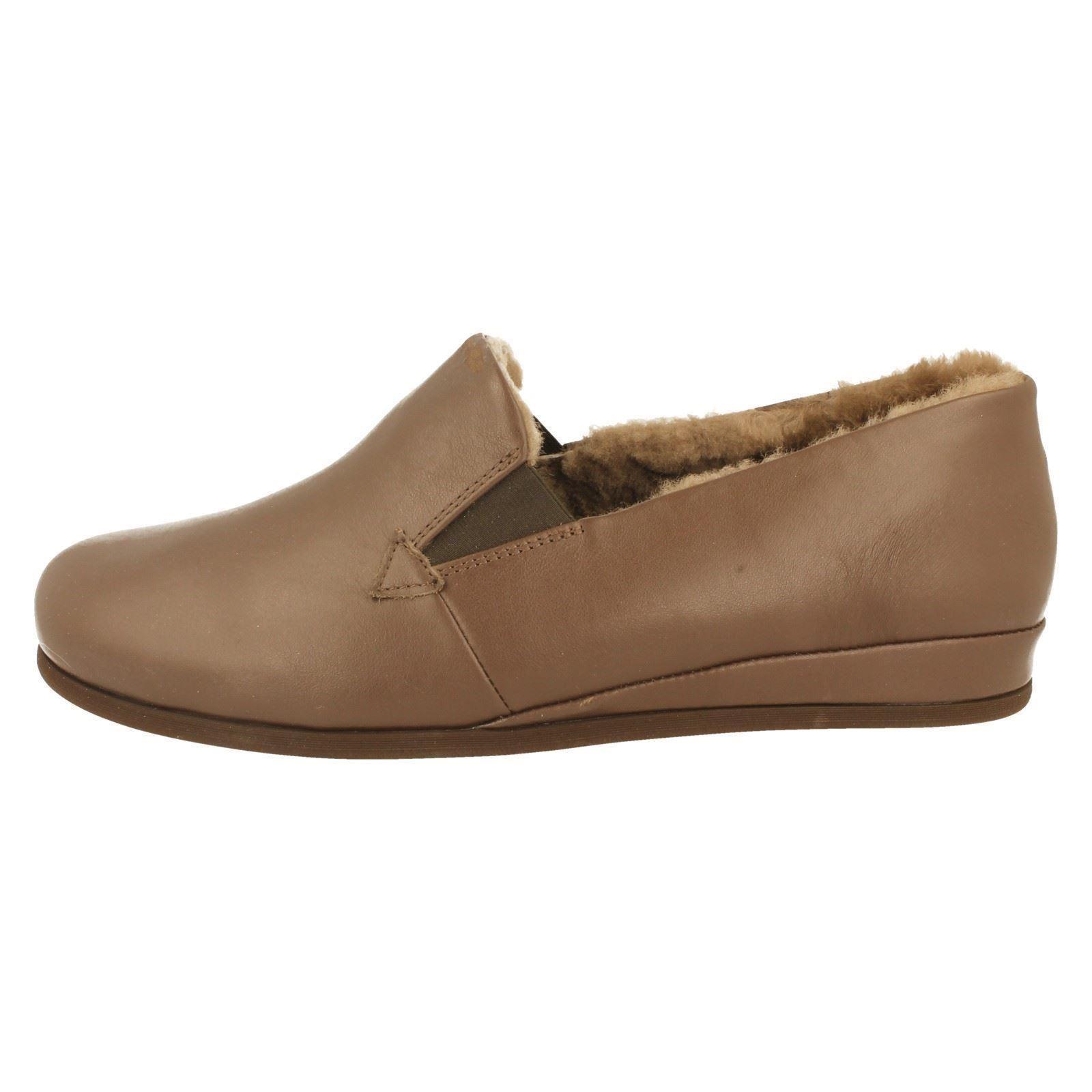 Pantofole da uomo Da Uomo Rohde Caldo Foderato Pantofole Stile 6420-w
