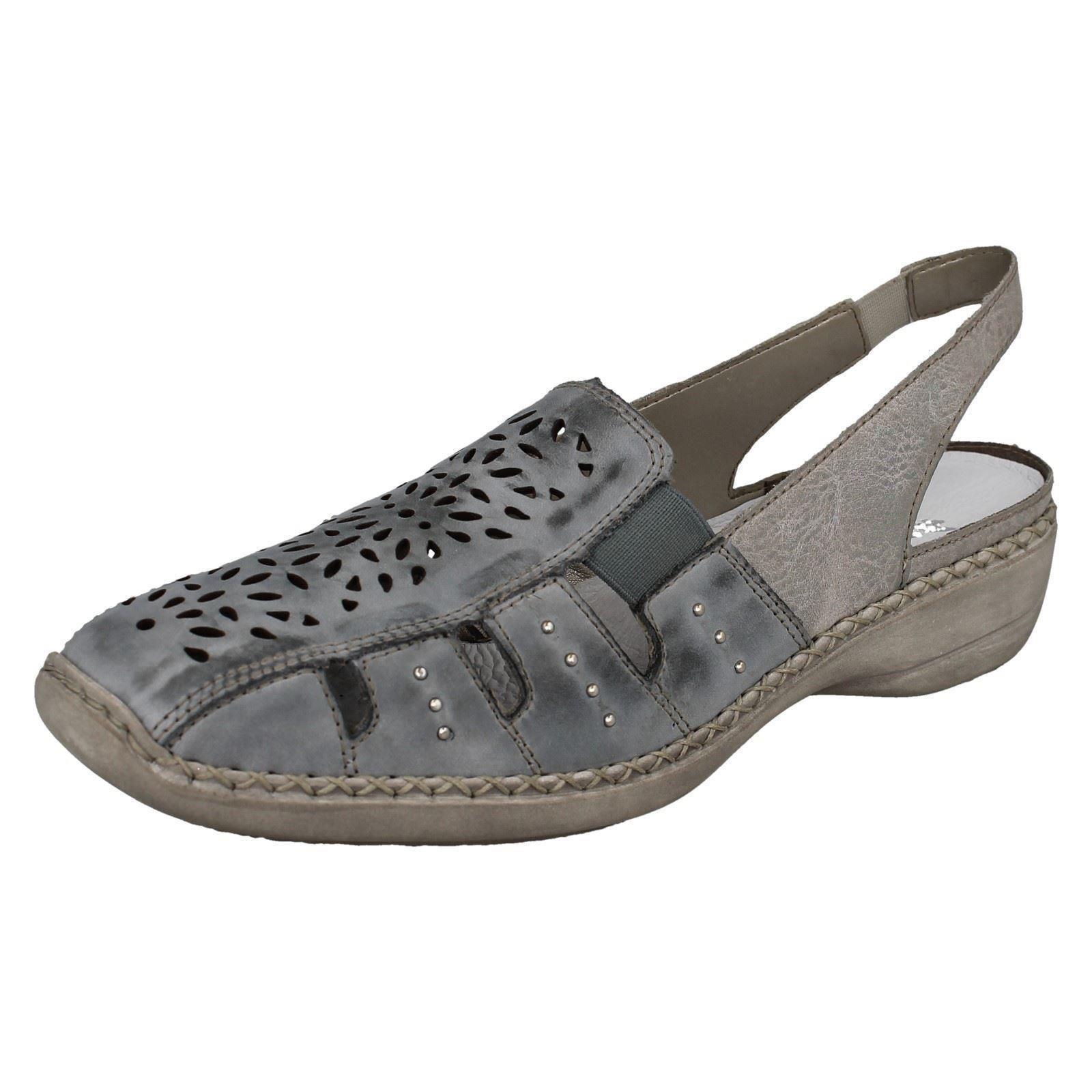 Damas Rieker Sandalias de dedo del pie cerrado 41390