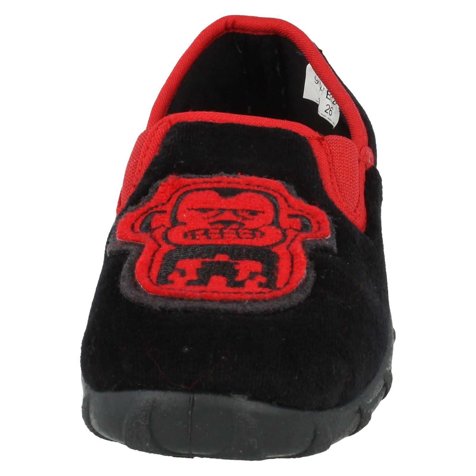 Boys Start Rite Slippers Label Funky Monkey