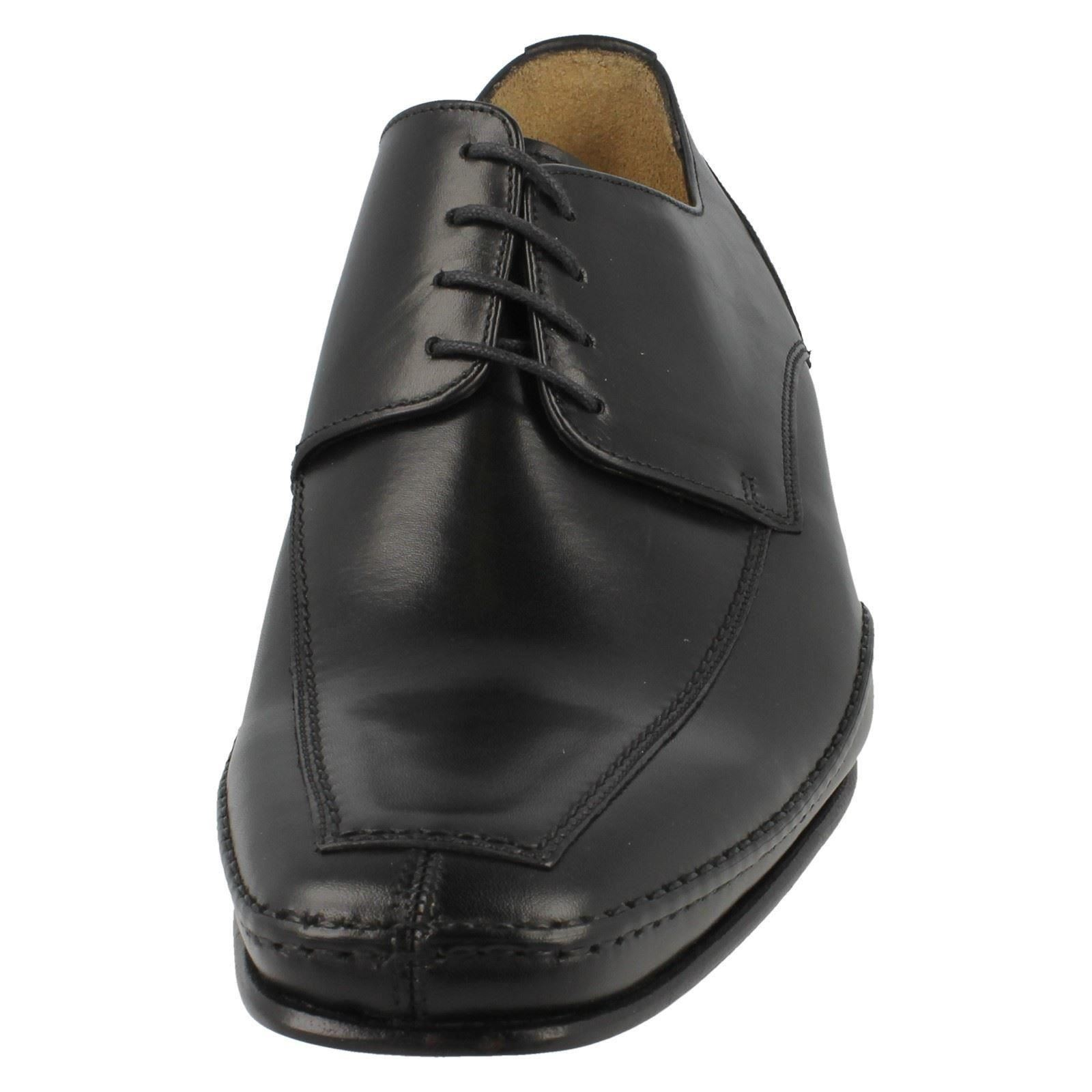 Uomo Loake Leder Square Toe Stitch Schuhes Detail Formal Lace Up Schuhes Stitch Hurst 58d8a4