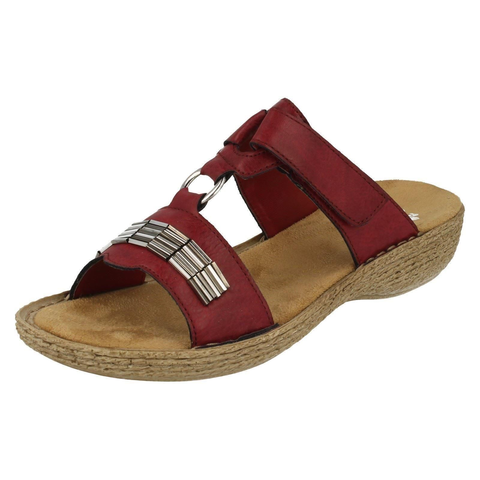 Man/Woman Ladies Rieker Sandals 65860 High security Highly praised and the appreciated by the and consumer audience have fun c3c877