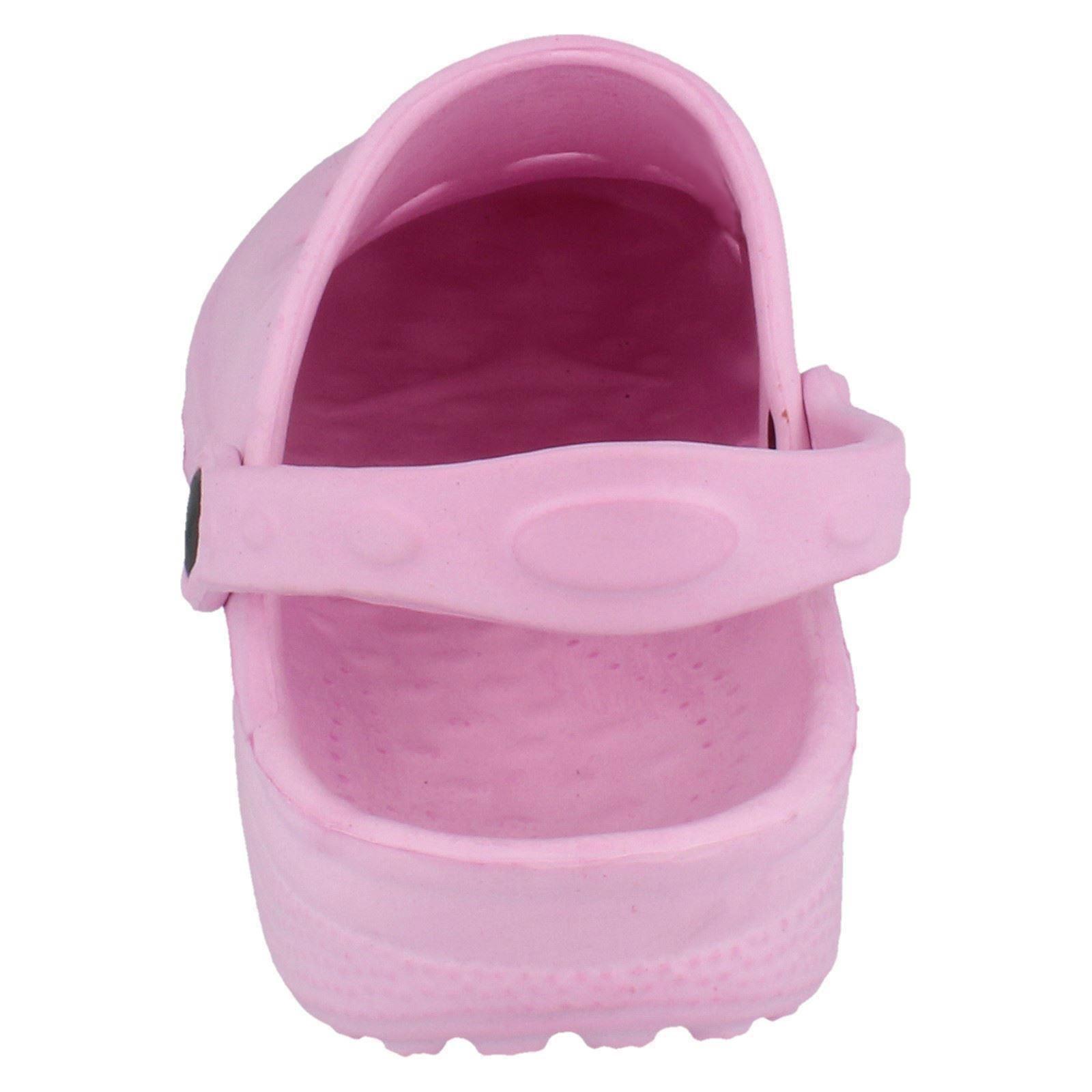 Children's Mancha En Plástico Zueco Sandalias X3014-D