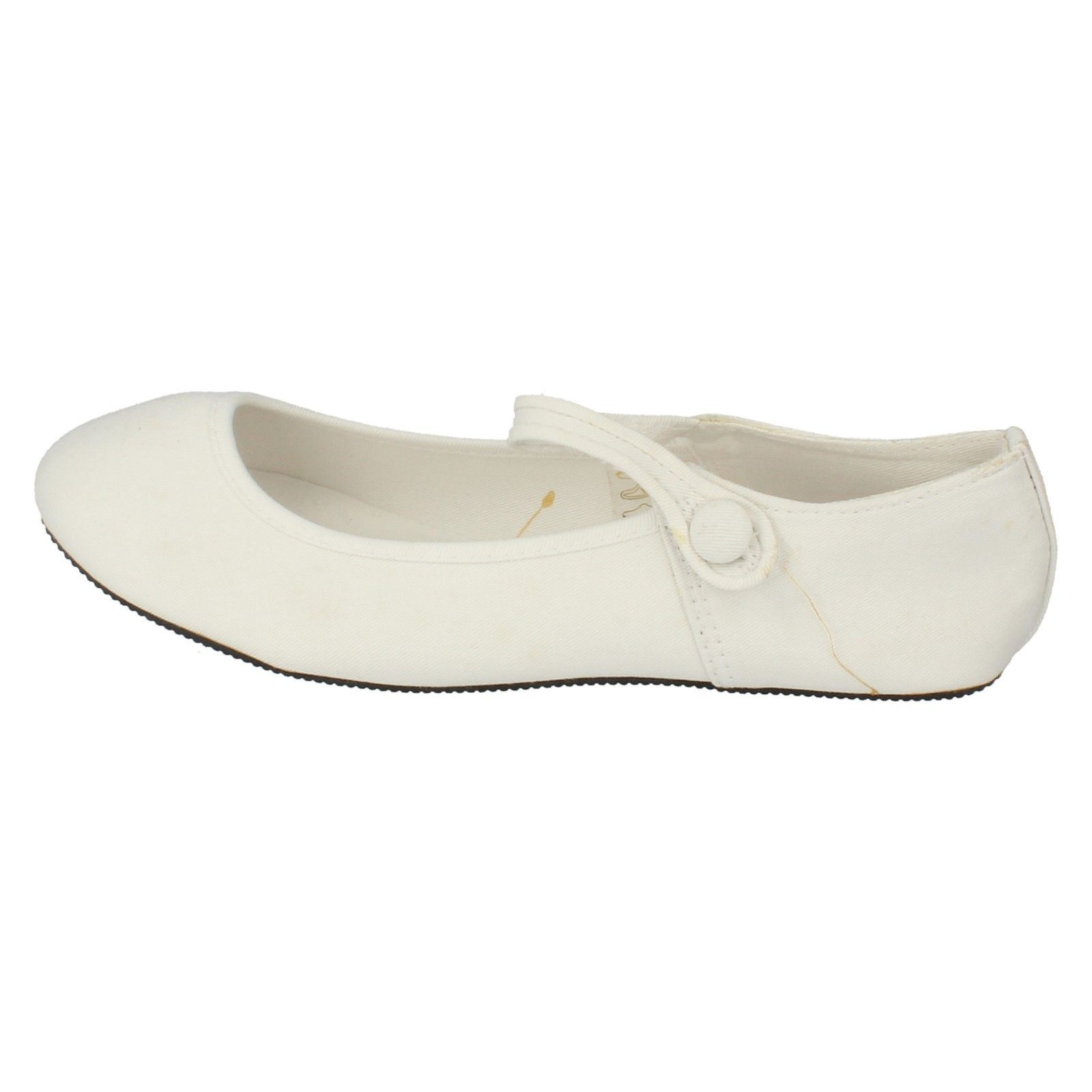 Damas Spot on Zapatos De Lona Estilo F8487 ~ N