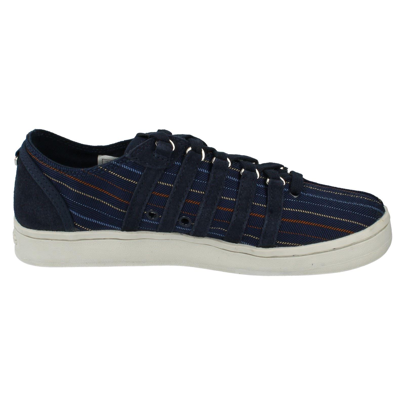 Para Hombre K-swiss Lona Zapatos el estilo-la colección Vintage Ca
