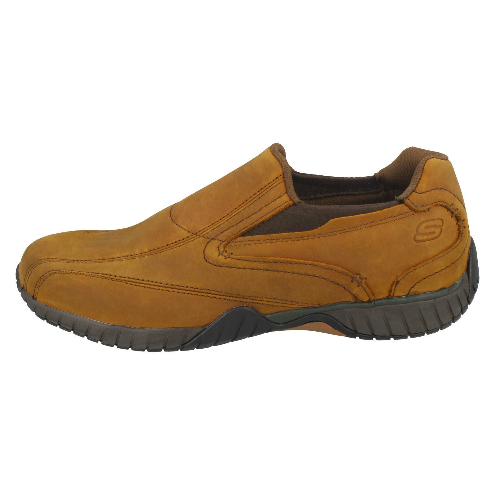 Herren Skechers Slip On Bascom Casual Schuhes / Trainers Label Bascom On  N b501d0
