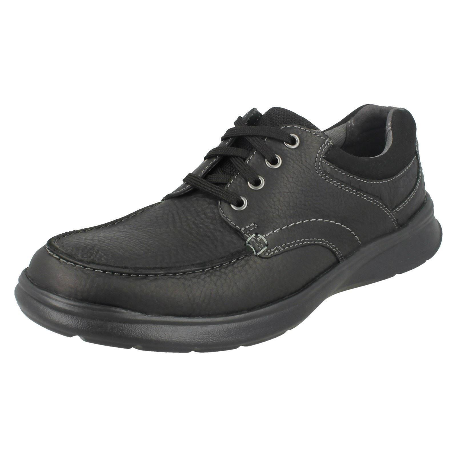 e5fb15611dcc0 Mens Clarks Casual Lace up Shoes Cotrell Edge UK 9 Black G. About this  product. Picture 1 of 7  Picture 2 of 7 ...