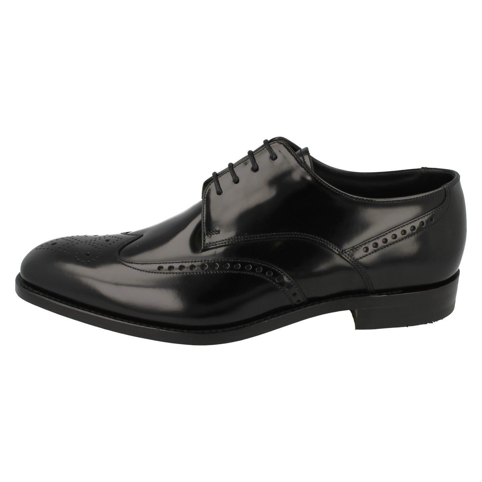 Bogart Style Shoes Formal Black Mens F Loake Fitting wv8CZSq