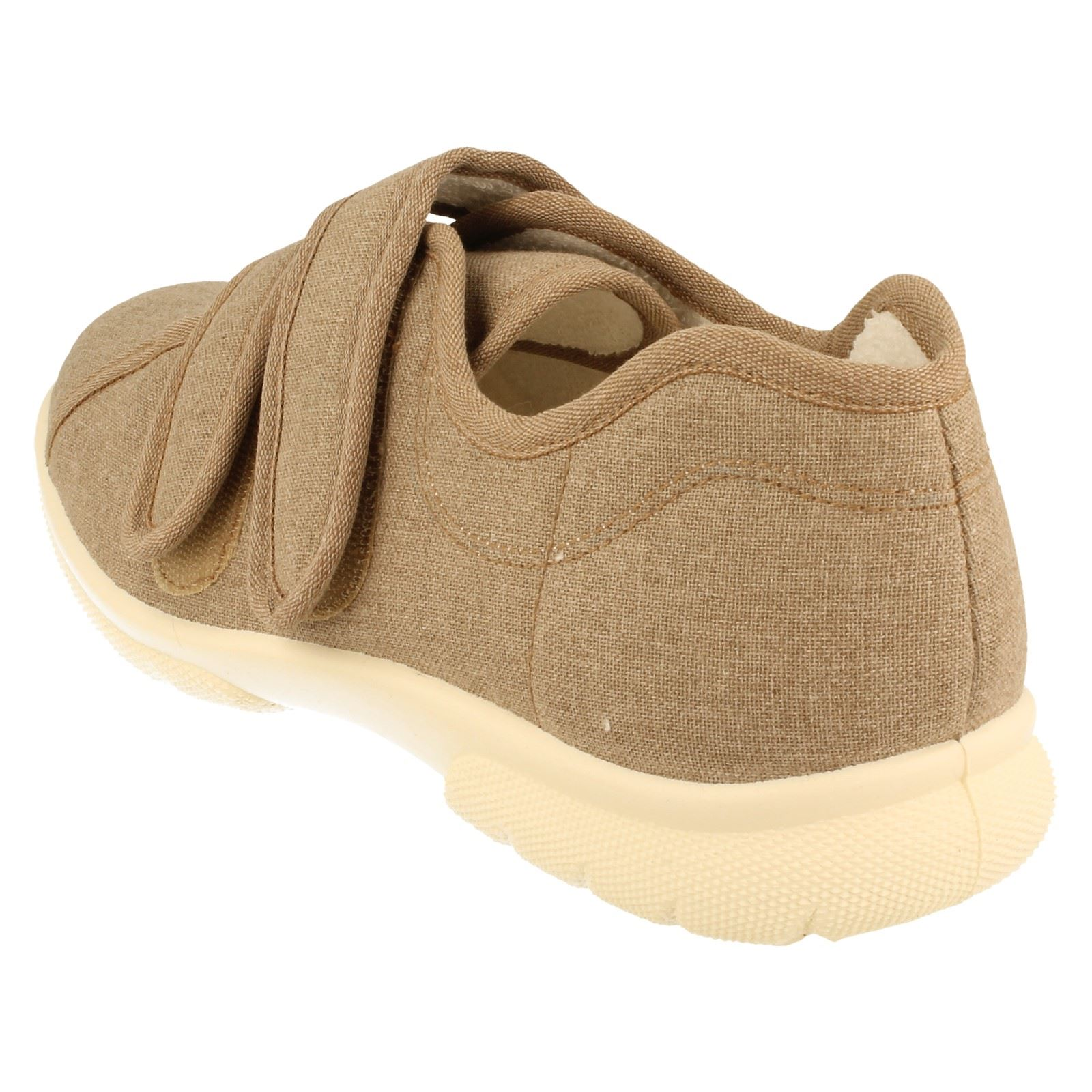 Mens DB Canvas Fitting Extra Wide Fitting Canvas Shoes Harris-W bc6a2f