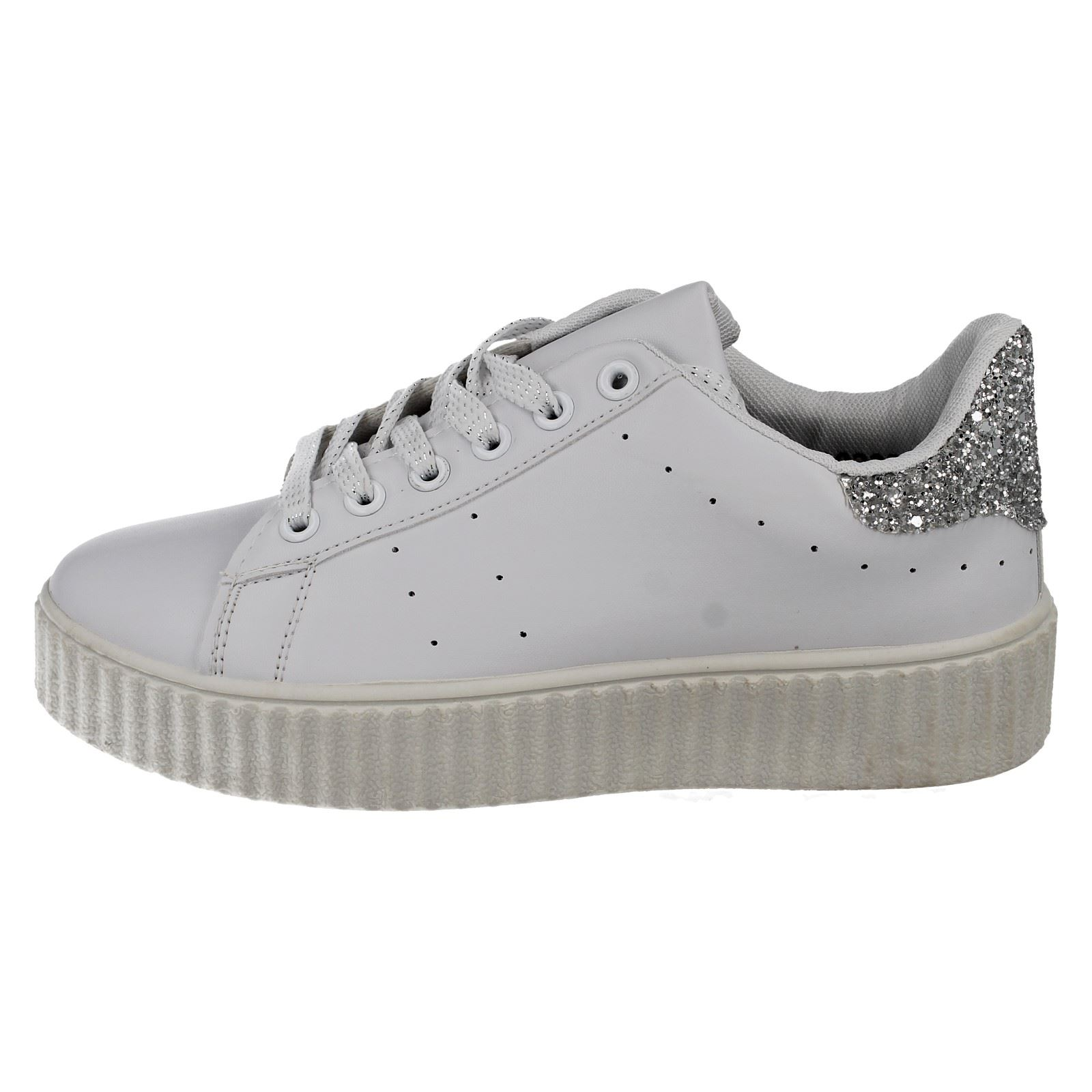 Ladies Spot on Trainers The Style - F8R0222
