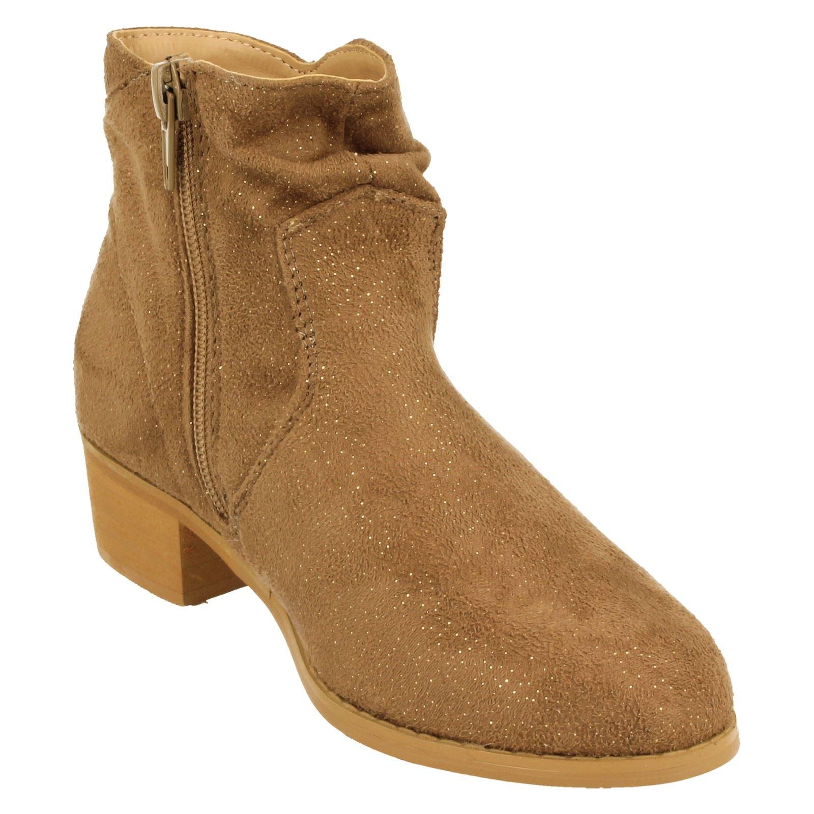 Girls Spot On Boots H5082-W