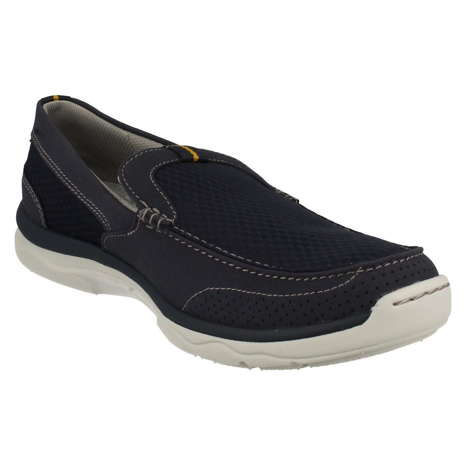 Men's Clarks Cloud Steppers Slip On Casual Step Schuhes Trainers Style -Marus Step Casual 971978