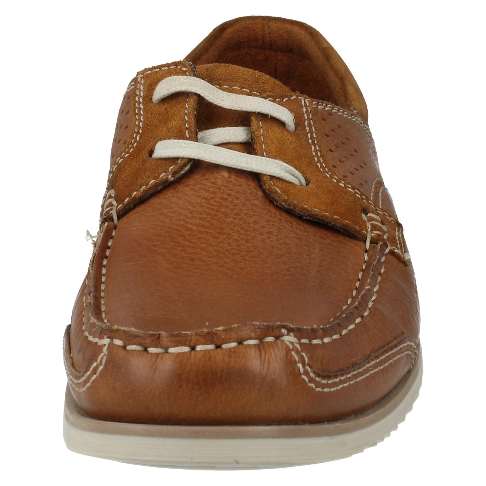 Uomo clarks scarpe stile barca modello kendrick vela w ebay for Accessori barca vela