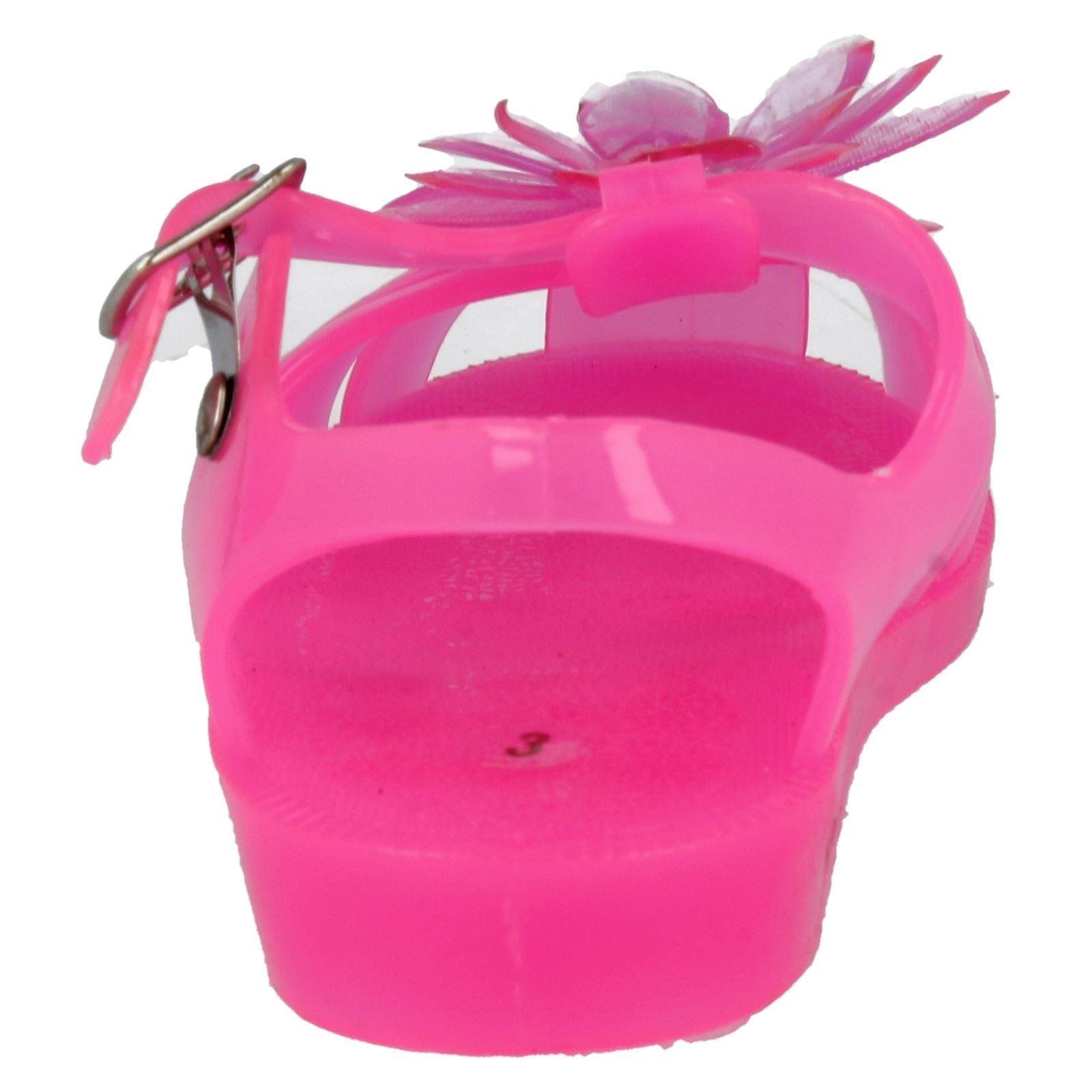 Las niñas en el clavo Jelly Sandalias el estilo-h2333