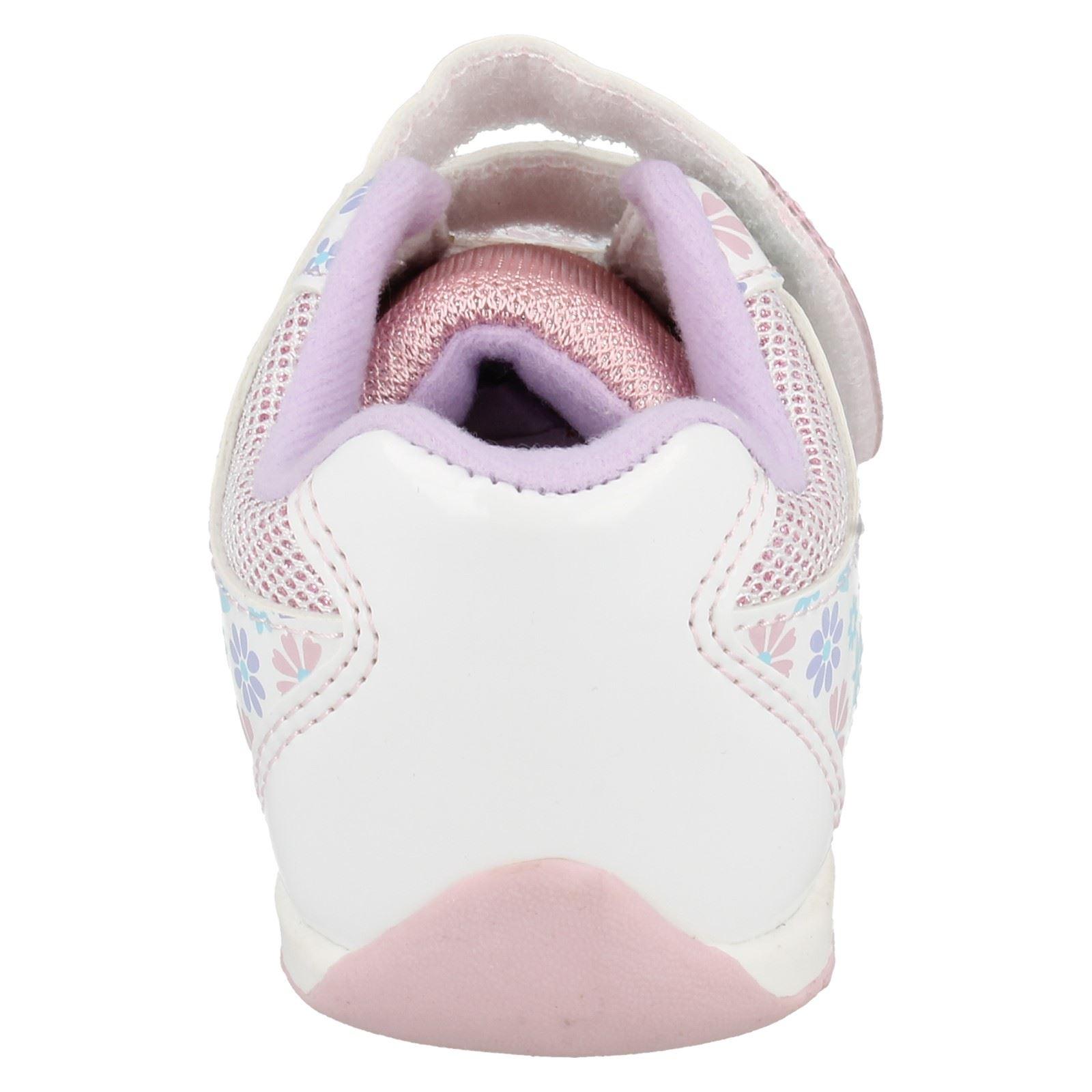 Chicas Disney Zapatillas Con Detalle De Flor Estilo-congelado