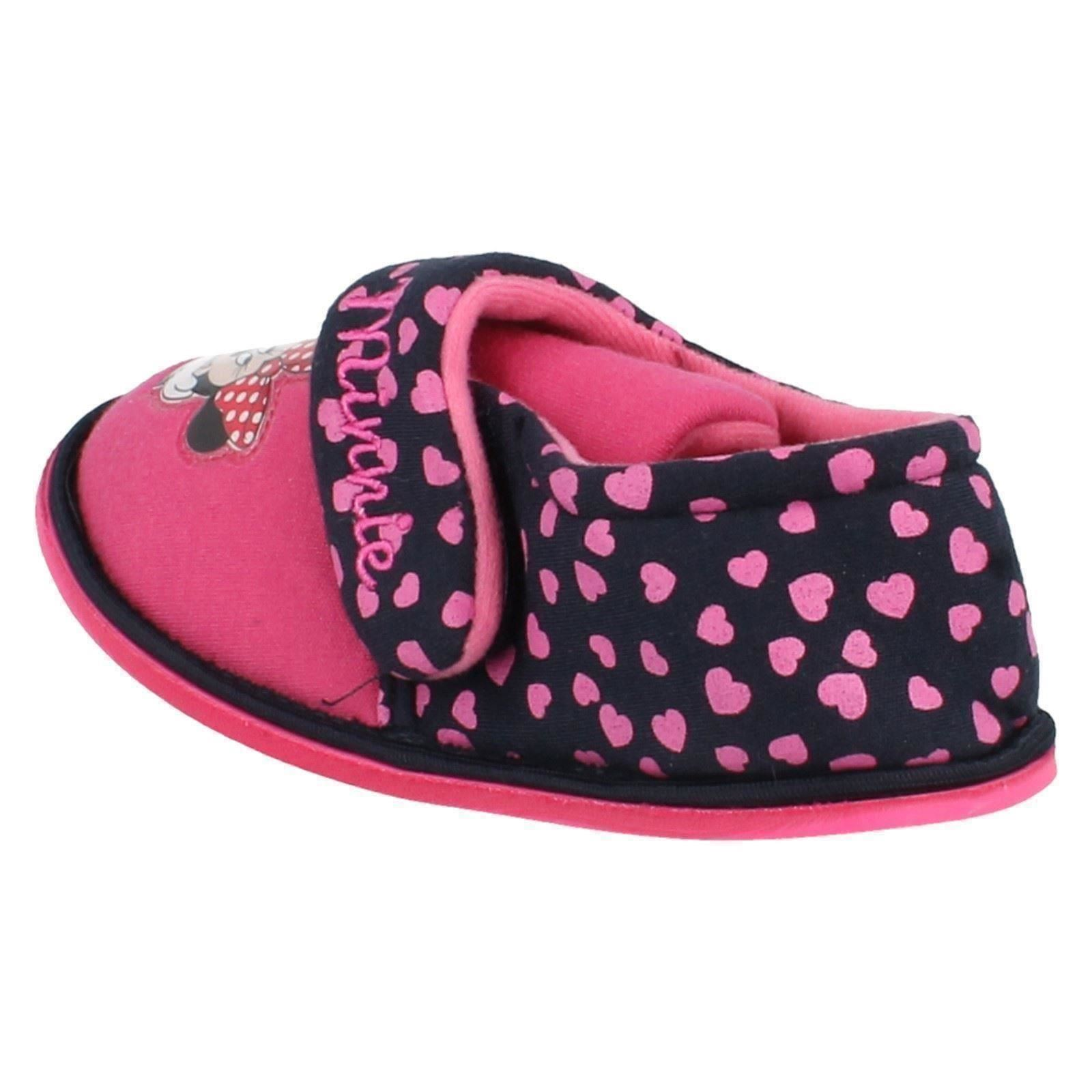 Girls Minnie Mouse Slippers Style Boarder