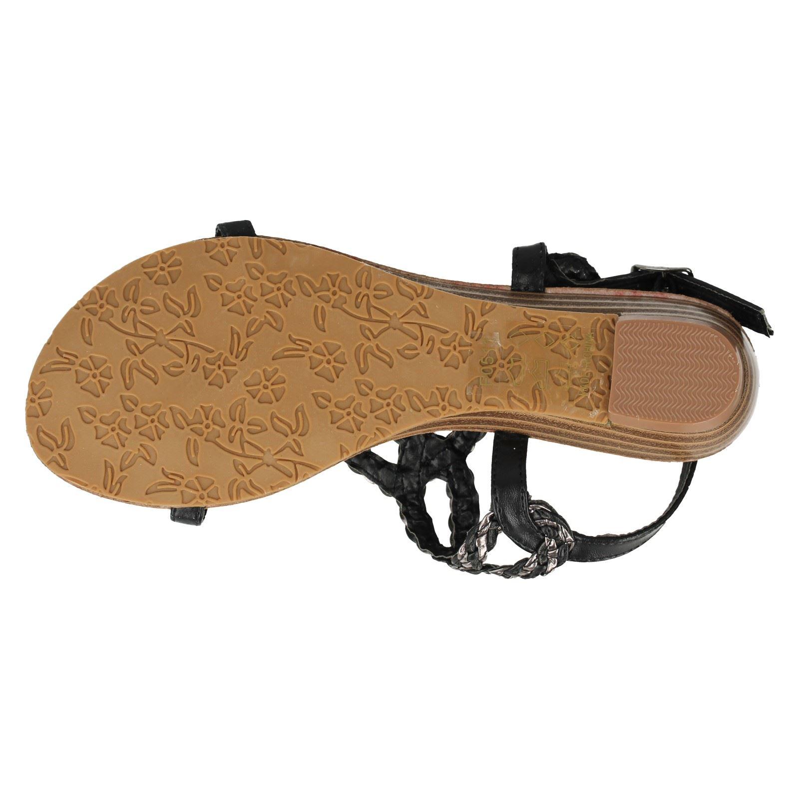 Verano señoras de punto en tejida superior Sandalias De Estilo-F0511