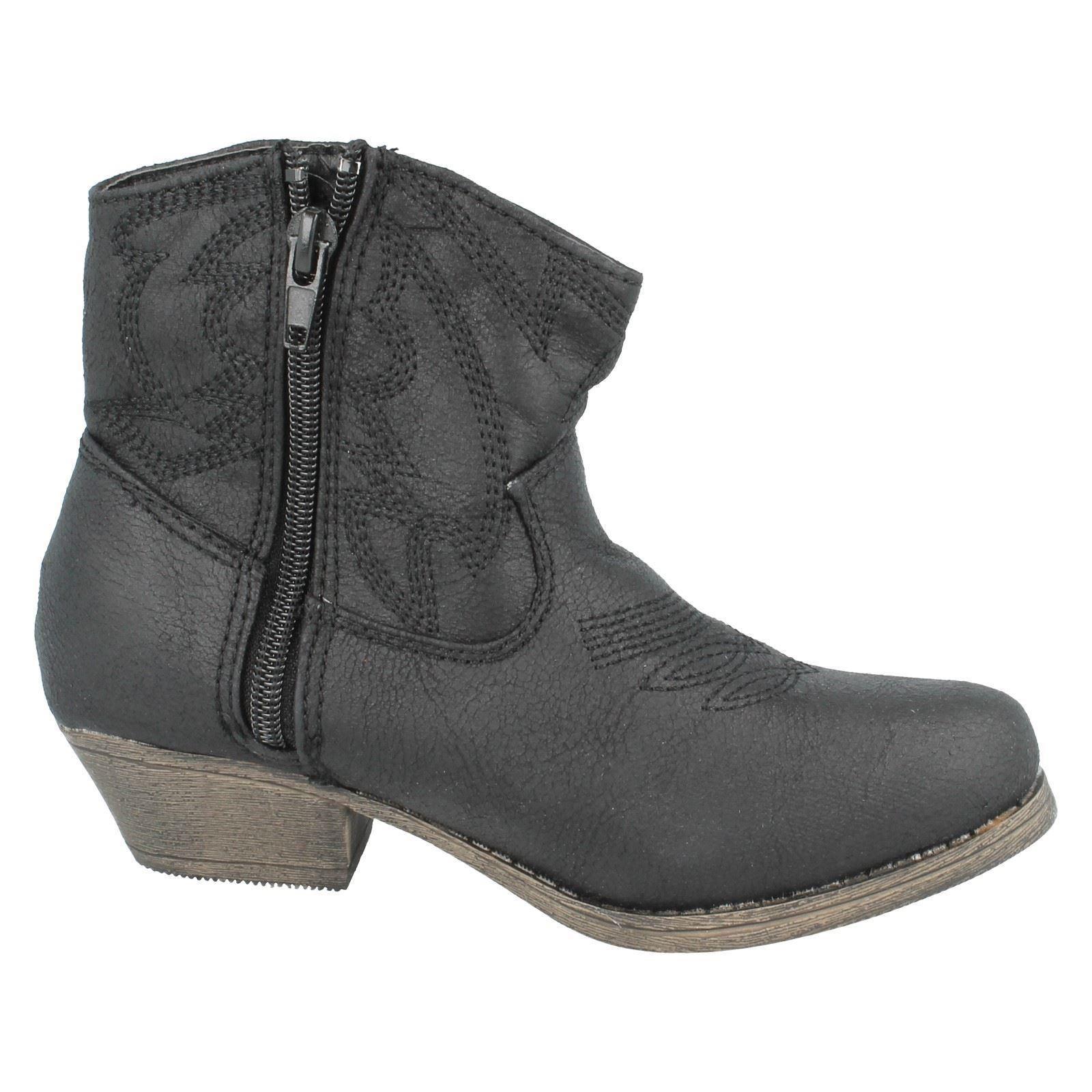 Girls Cutie Qt Ankle Boots H5017
