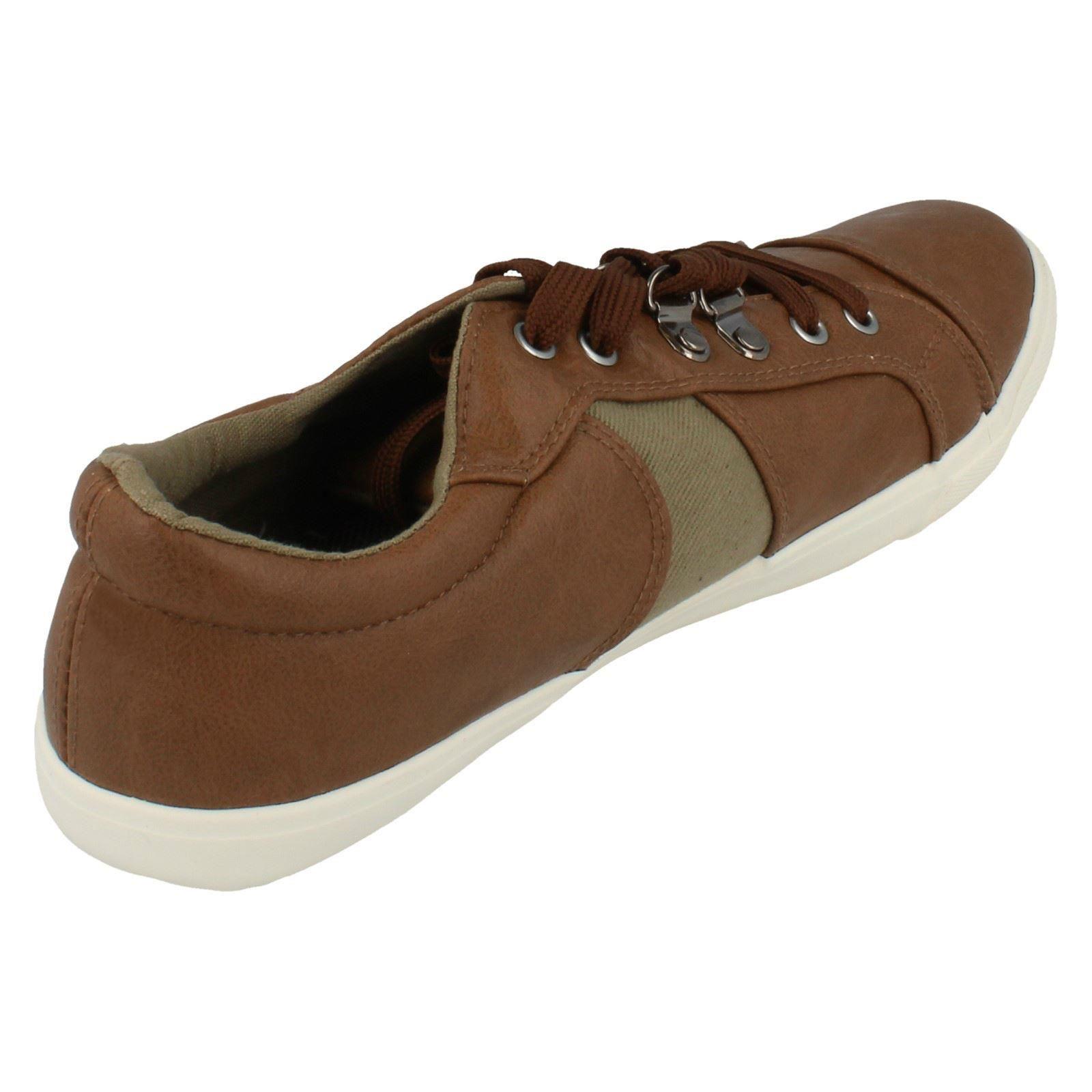 Mancha en Con Cordones Para hombre Zapatos Informales A2095-D