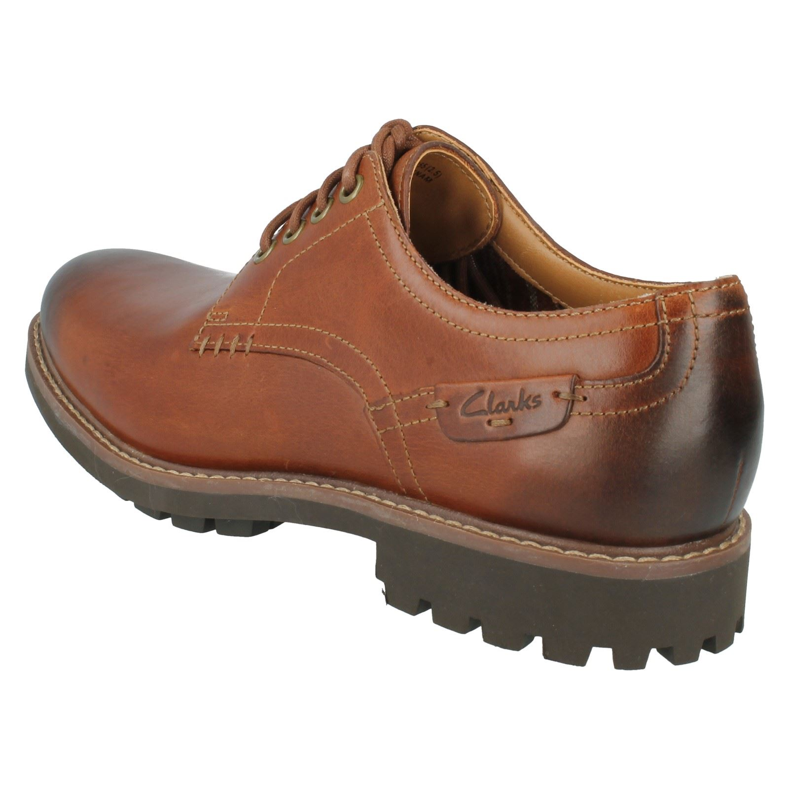 Men's Clarks Casual Lace Up Shoes Style - Montacute Hall