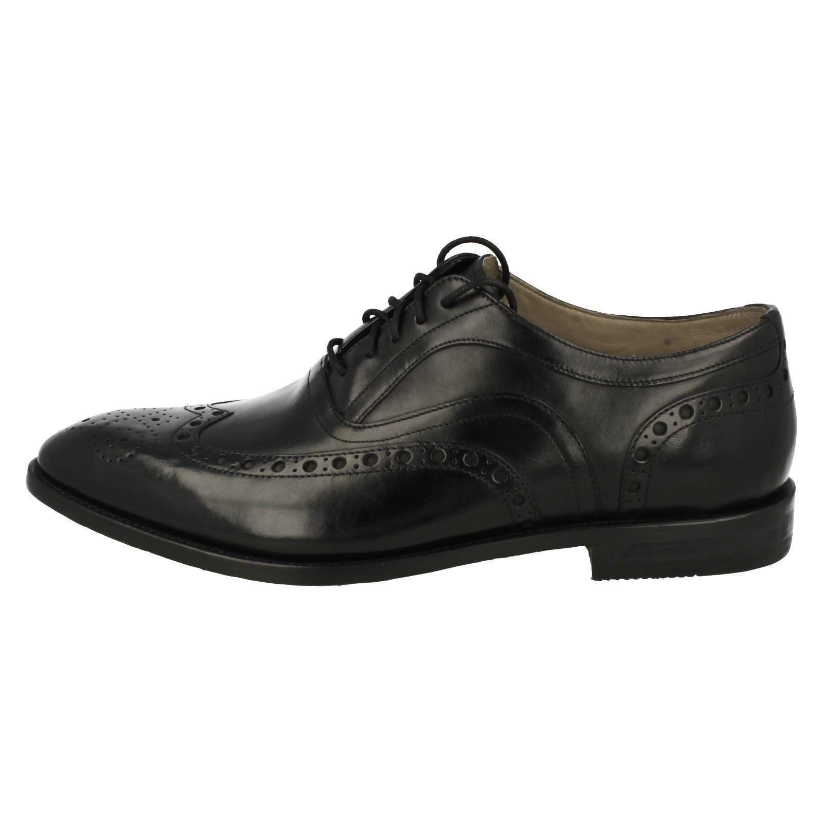 Men's Clarks Formal Lace Up Brogue Schuhes The Style - Twinley Limit