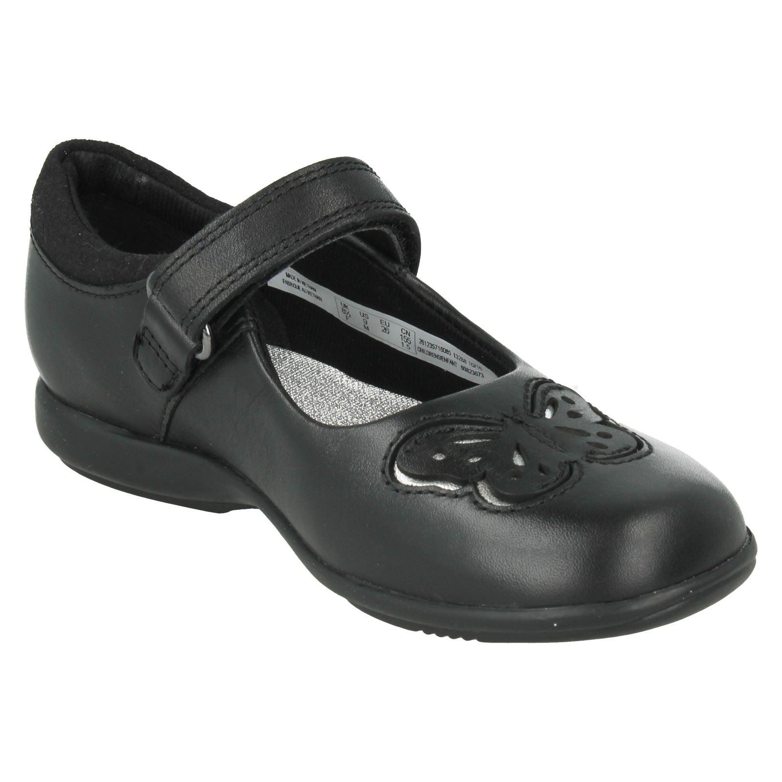 Chicas Clarks Zapatos Escolares Trixi Rose
