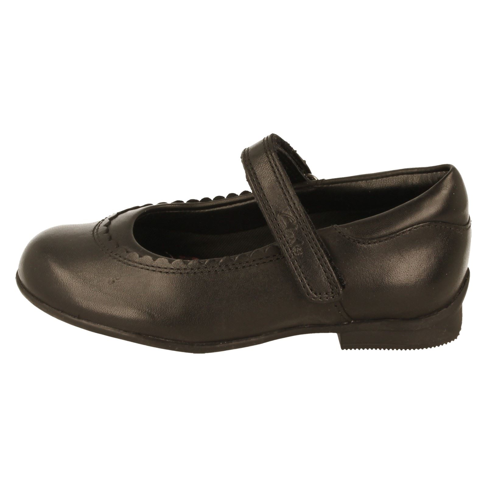 Girls Clarks Mary Jane Shoes The Style Dolly Twist -W