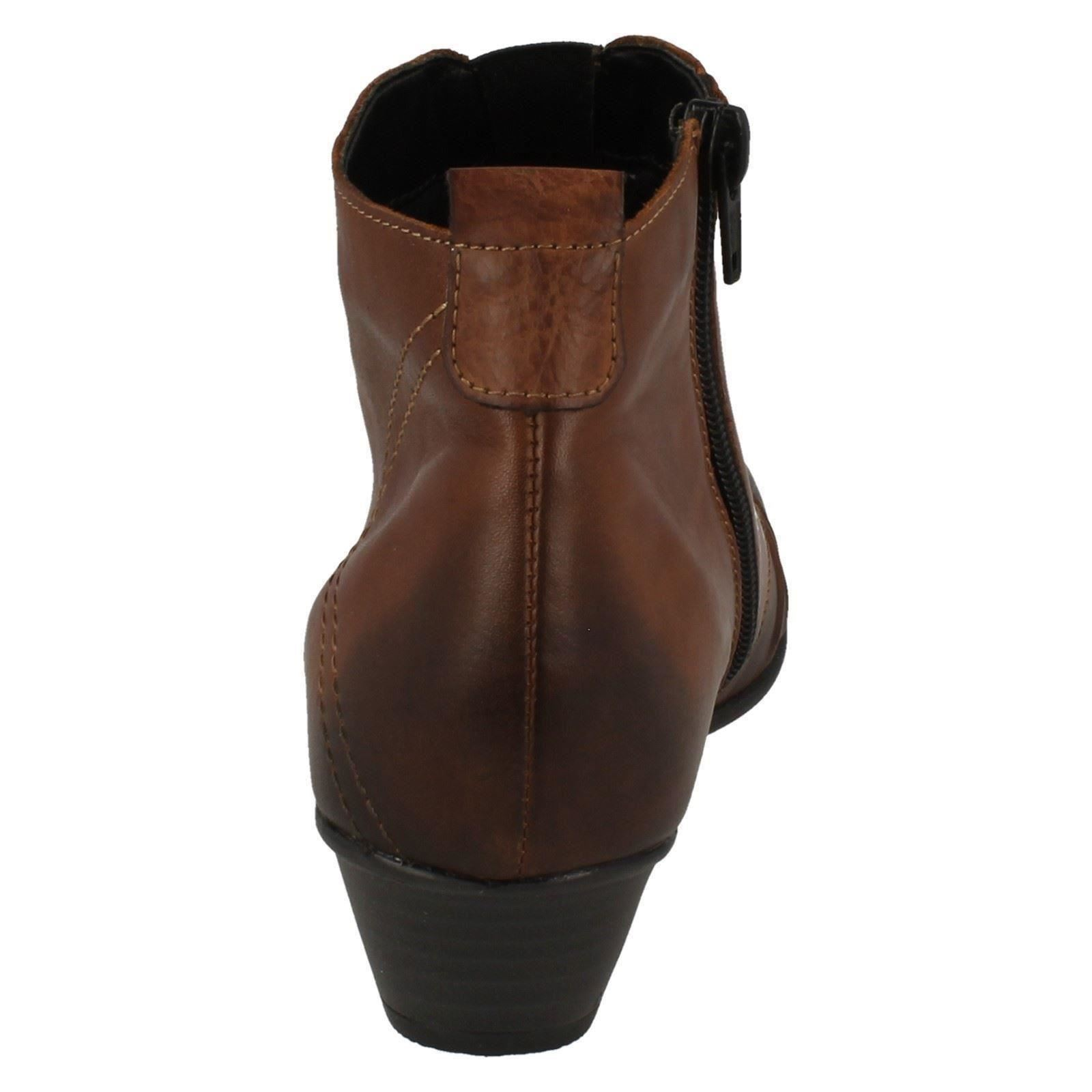 Boots Remonte Brown Label Ankle Ladies D7381 wvqx0PTPa