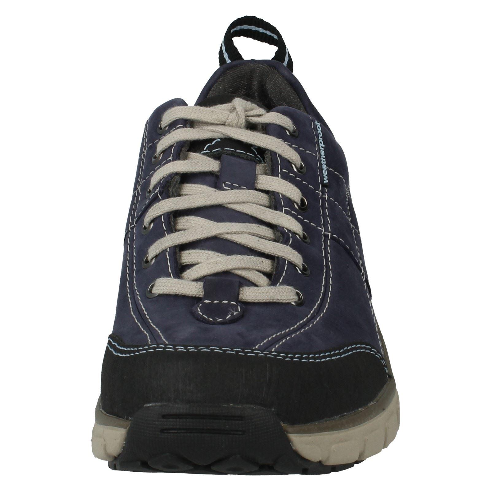 Femmes clarks lacets vague active wear chaussures de marche vague lacets roam a01bd5