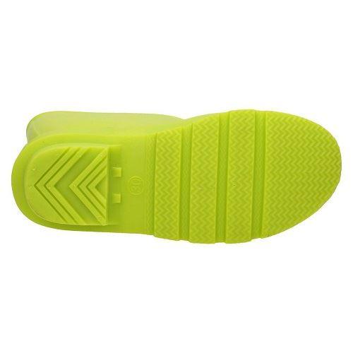 Girls Spot On X1198 Bright Coloured Wellington Boots ~ K