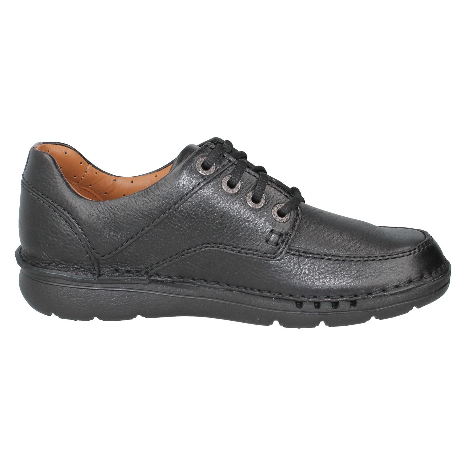 Mens UnstructuROT by Clarks Leder Casual Lace Up Schuhes Schuhes Schuhes Style -  Unnature Time 5b3d37