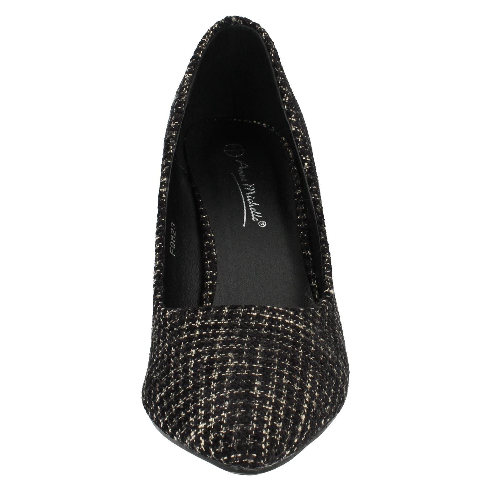 Señoras Anne Michelle Zapatos Tenis Etiqueta f9823