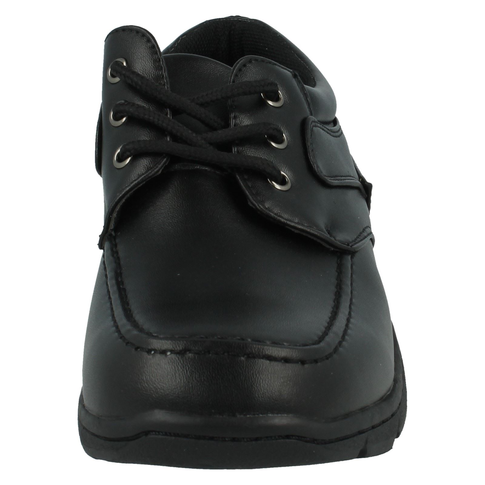 Cool 4 School Boys Lace Up School Shoes N1094